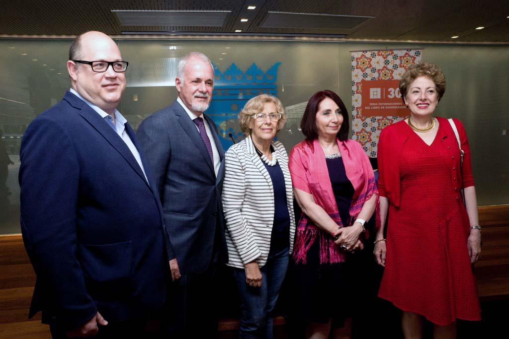 Autoridades universitarias y de Madrid