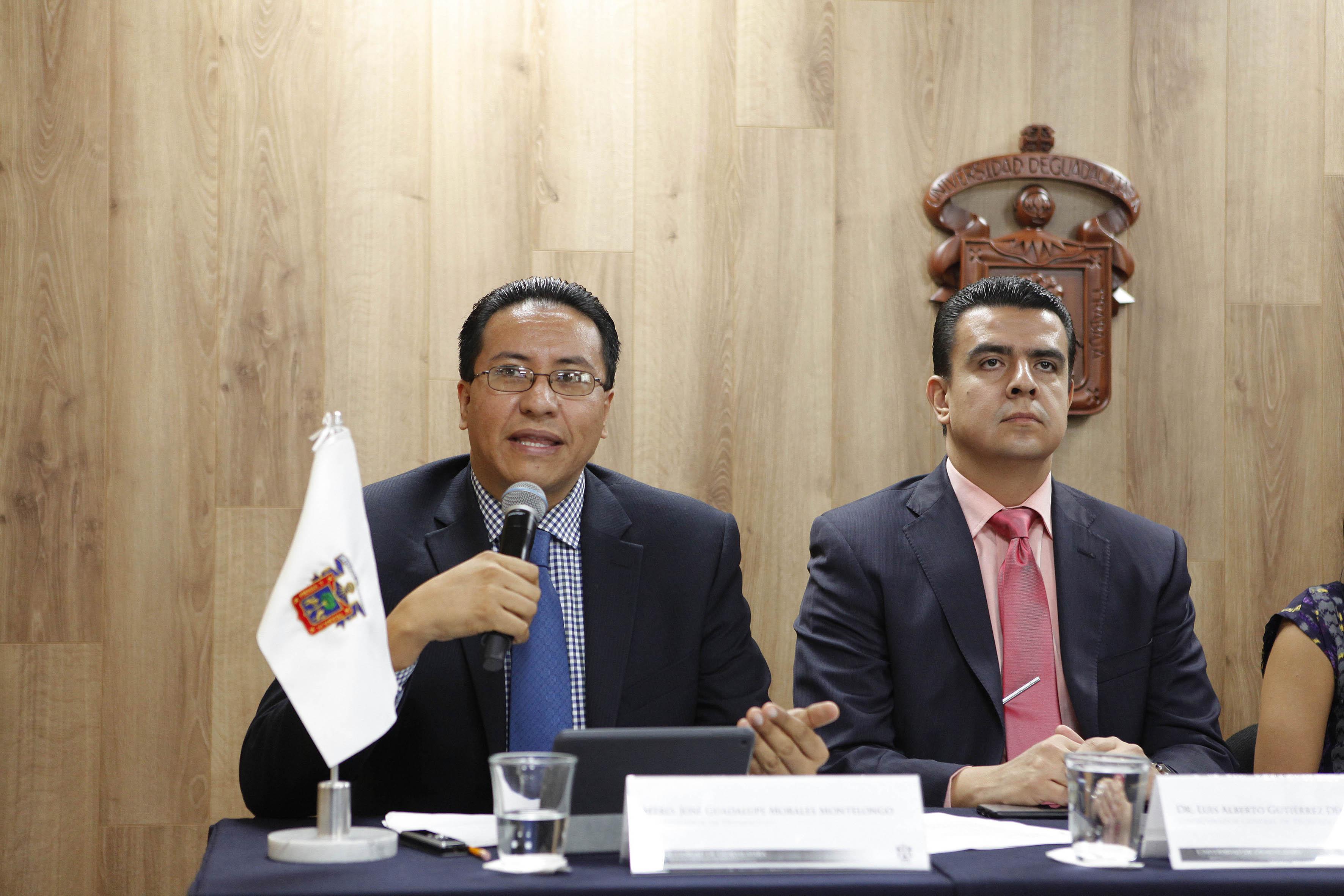 Mtro. José Guadalupe Morales, Coordinador de Desarrollo CGTI.