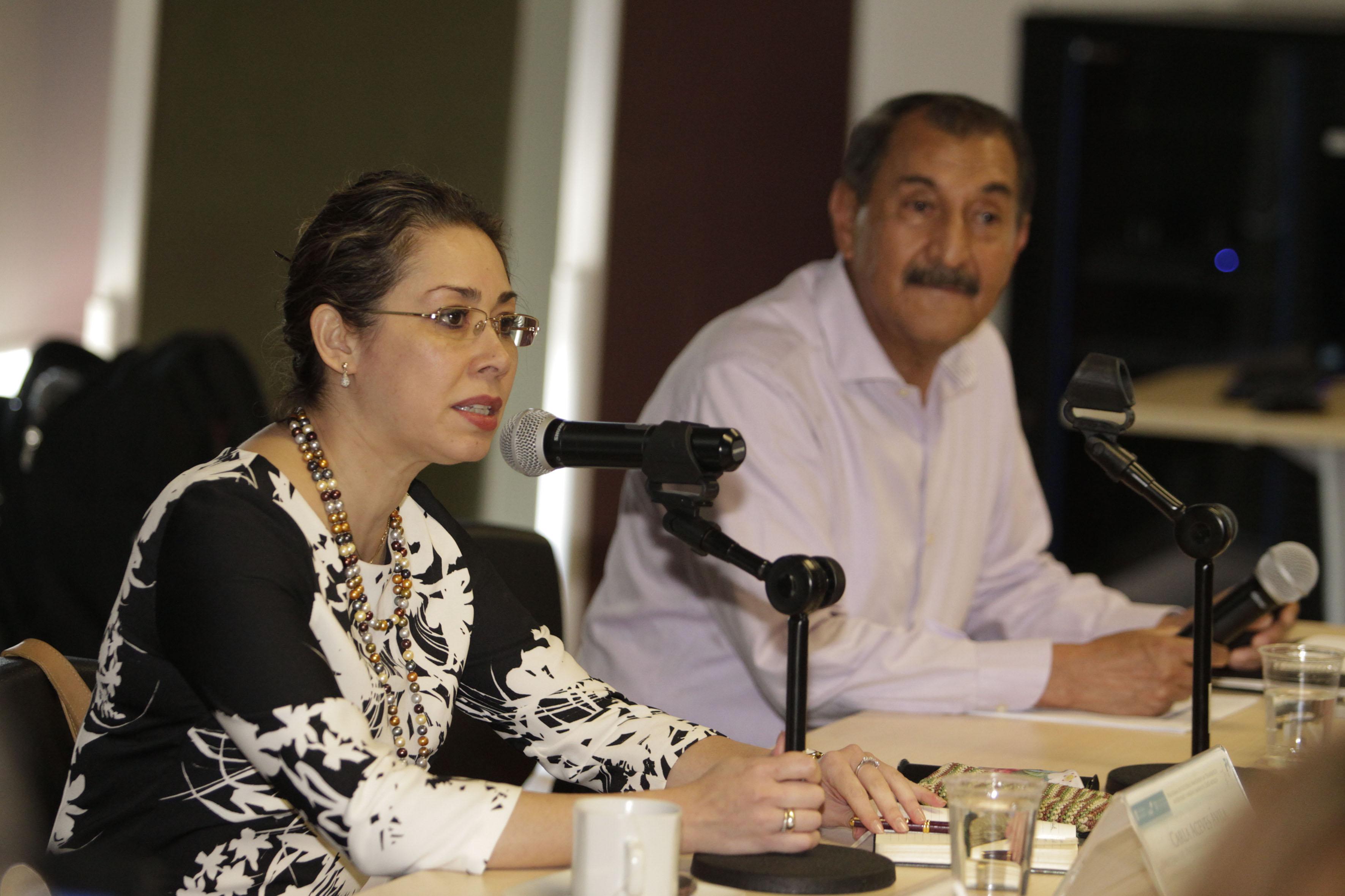 Doctora Carla Delfina Aceves Ávila, responsable del Programa Universidad Sustentable (