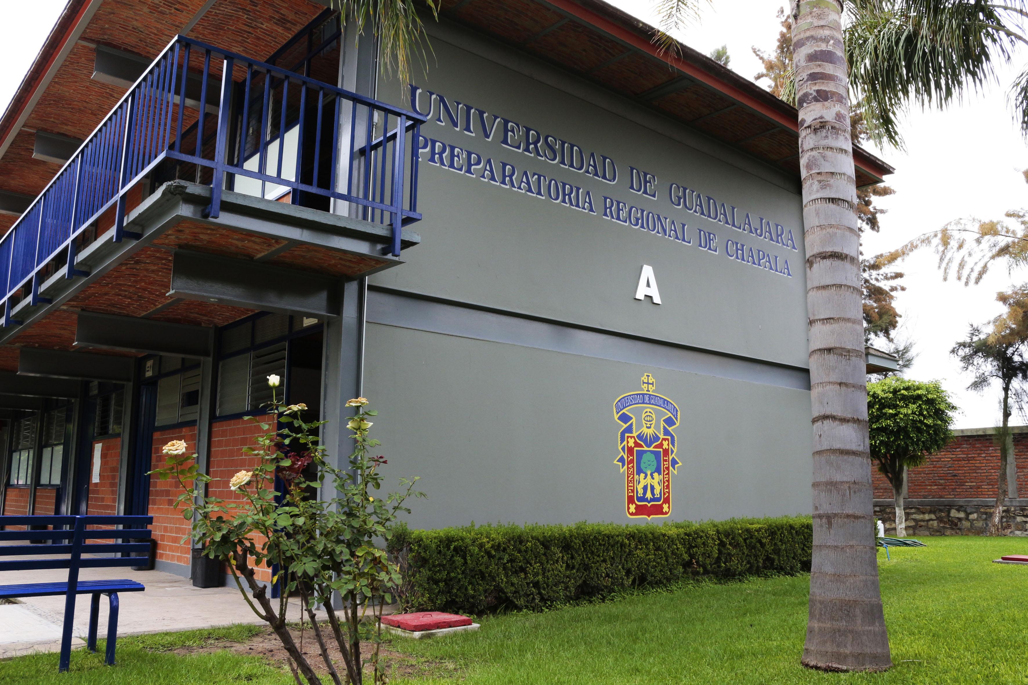 Edificio de la preparatoria de Chapala