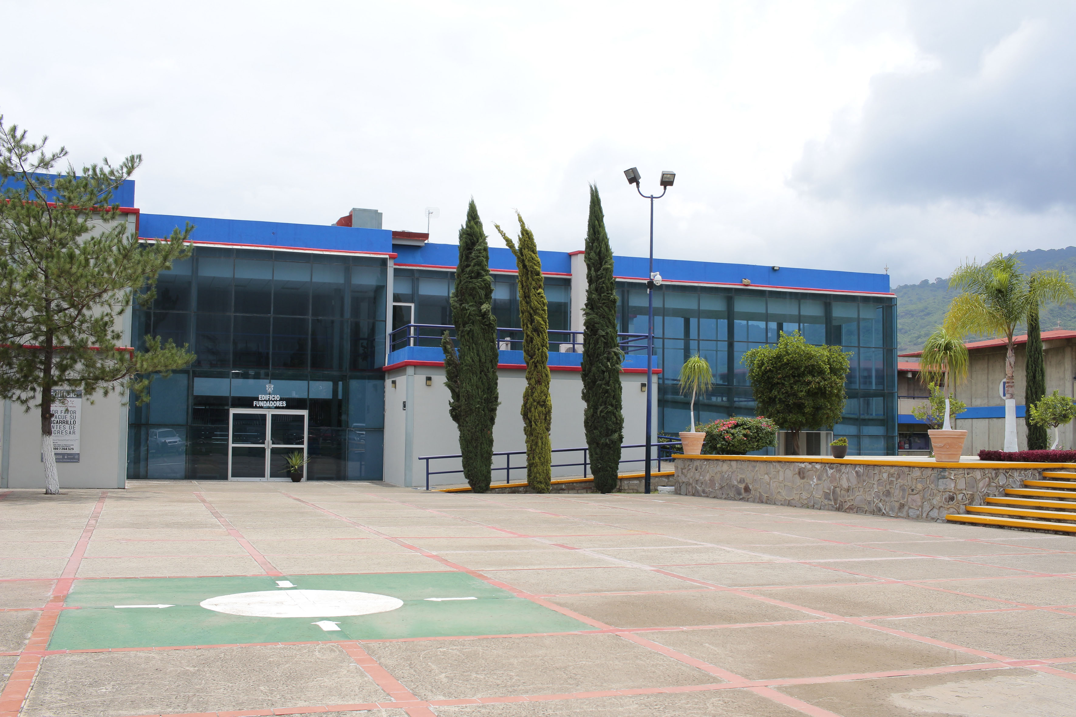 Patio de la Preparatoria de Ciudad Guzman
