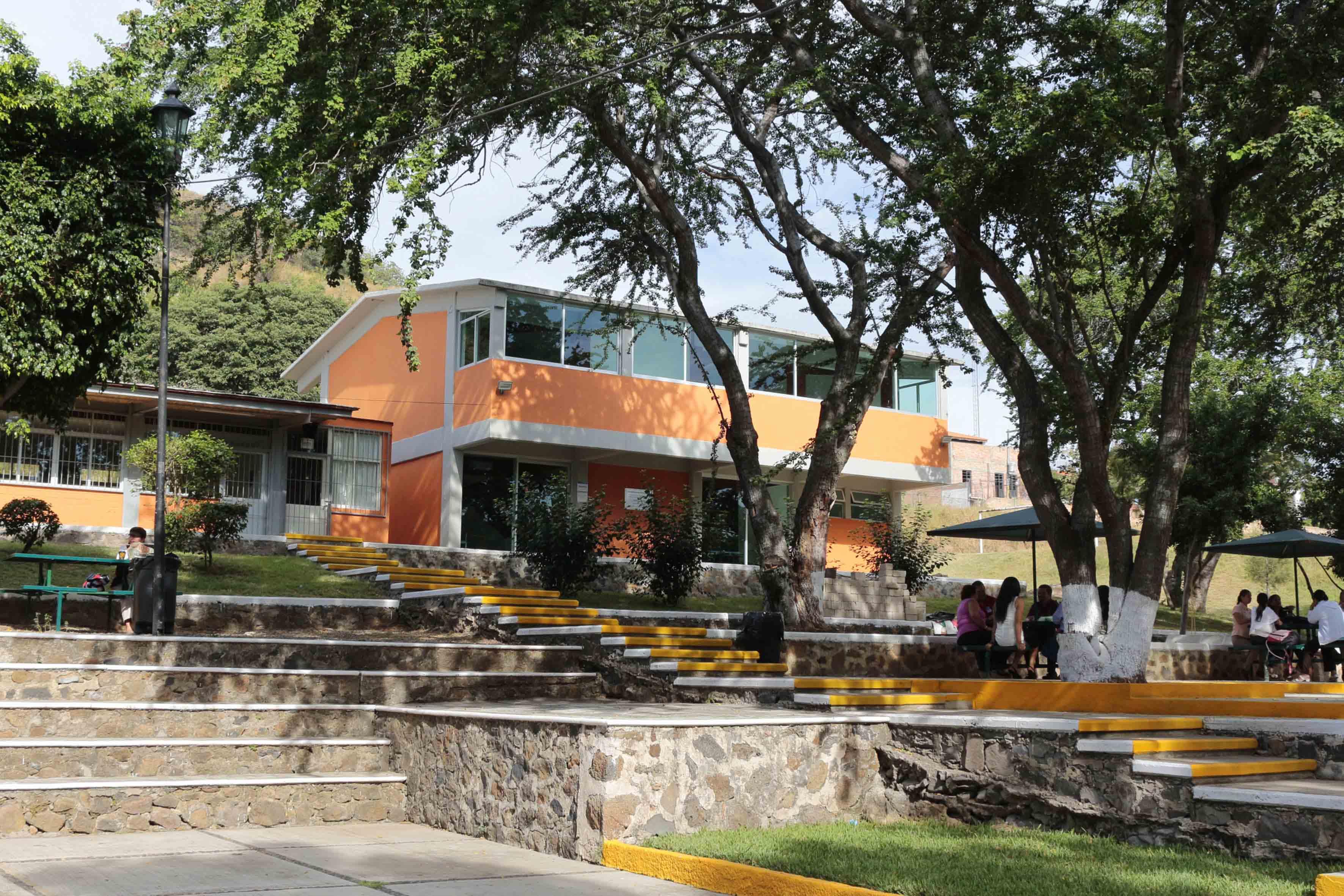 Edificio de la Preparatoria de Tequila de la Universidad de Guadalajara
