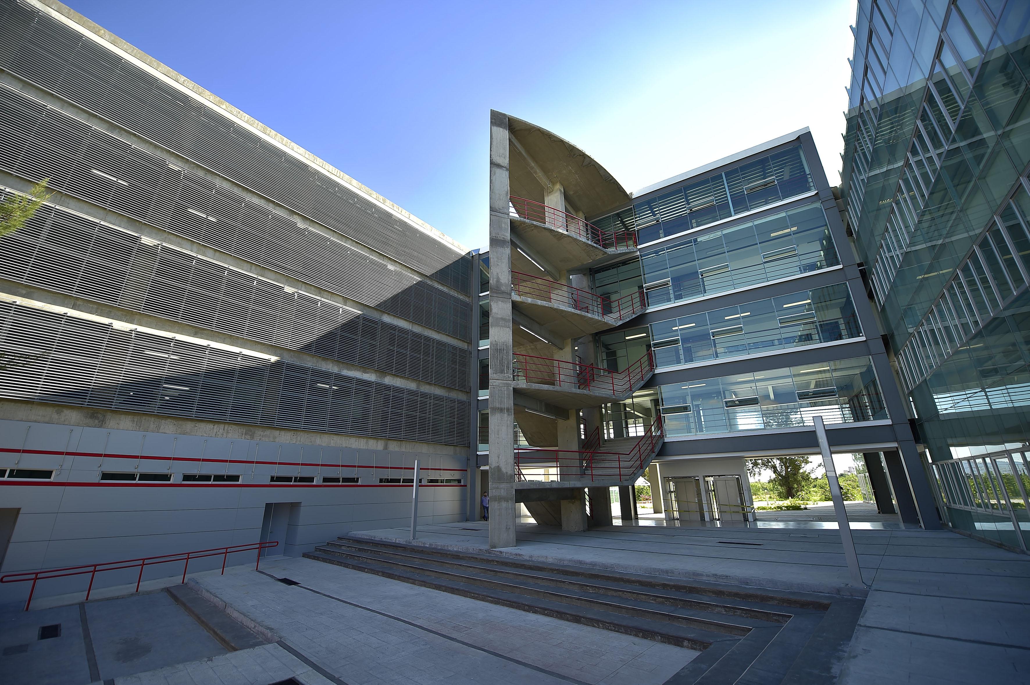 Instalaciones del Centro Universitario de Ciencias Sociales y Humanidades, campus Belenes