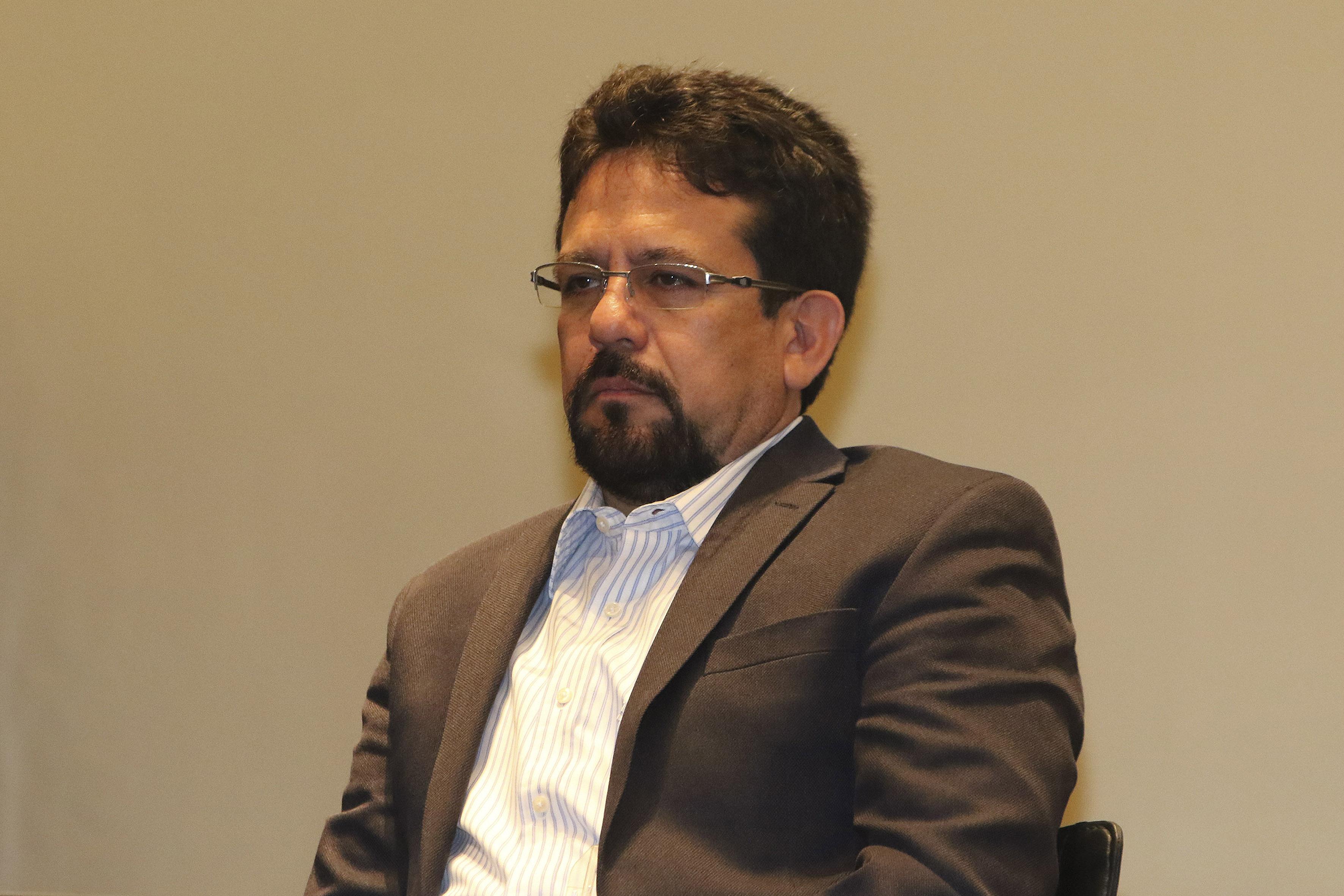Doctor César Octavio Monzón, director de la División de Ingenierías del CUCEI.