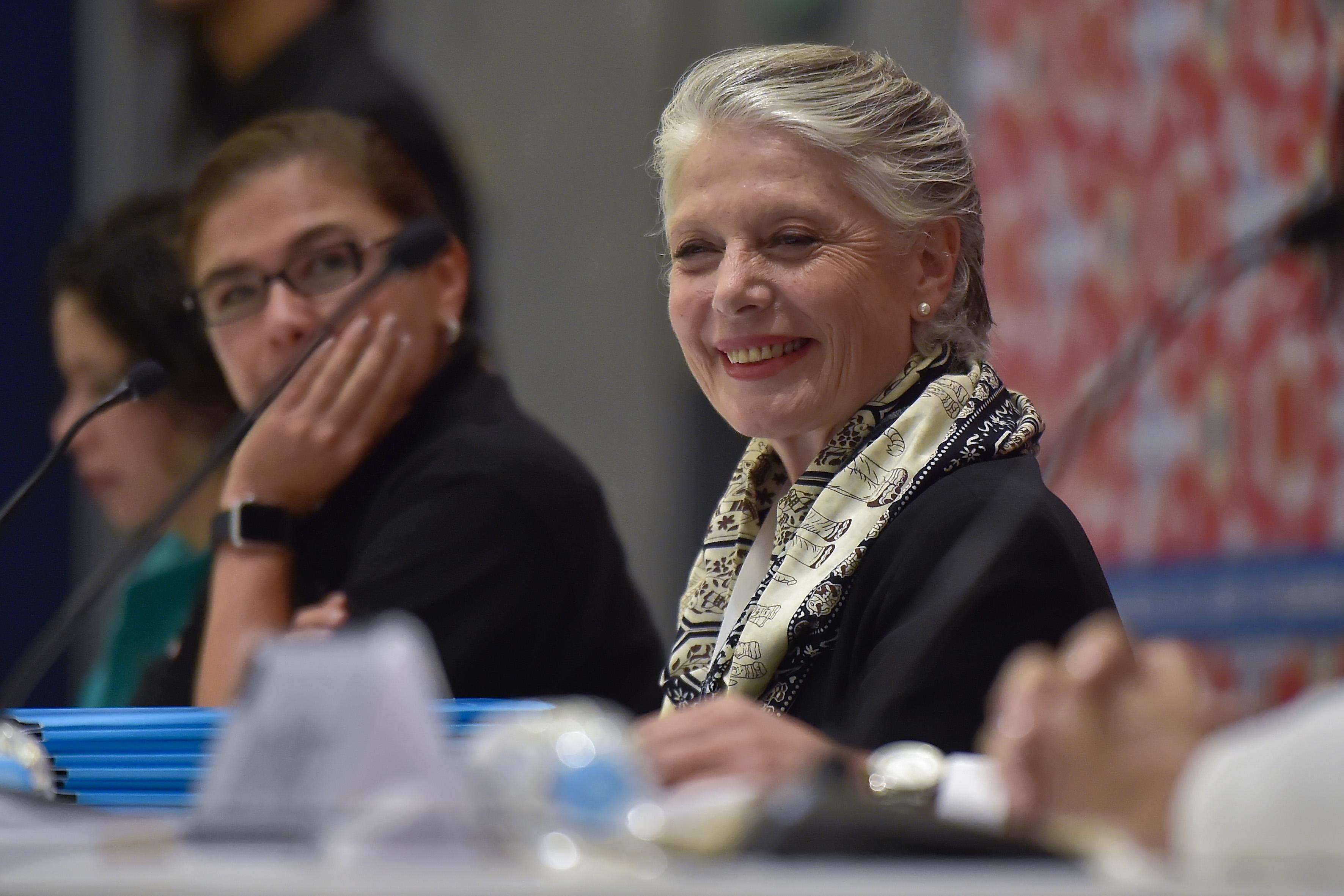 Doctora Myriam Vachez Plagnol, secretaria de Cultura de Jalisco.