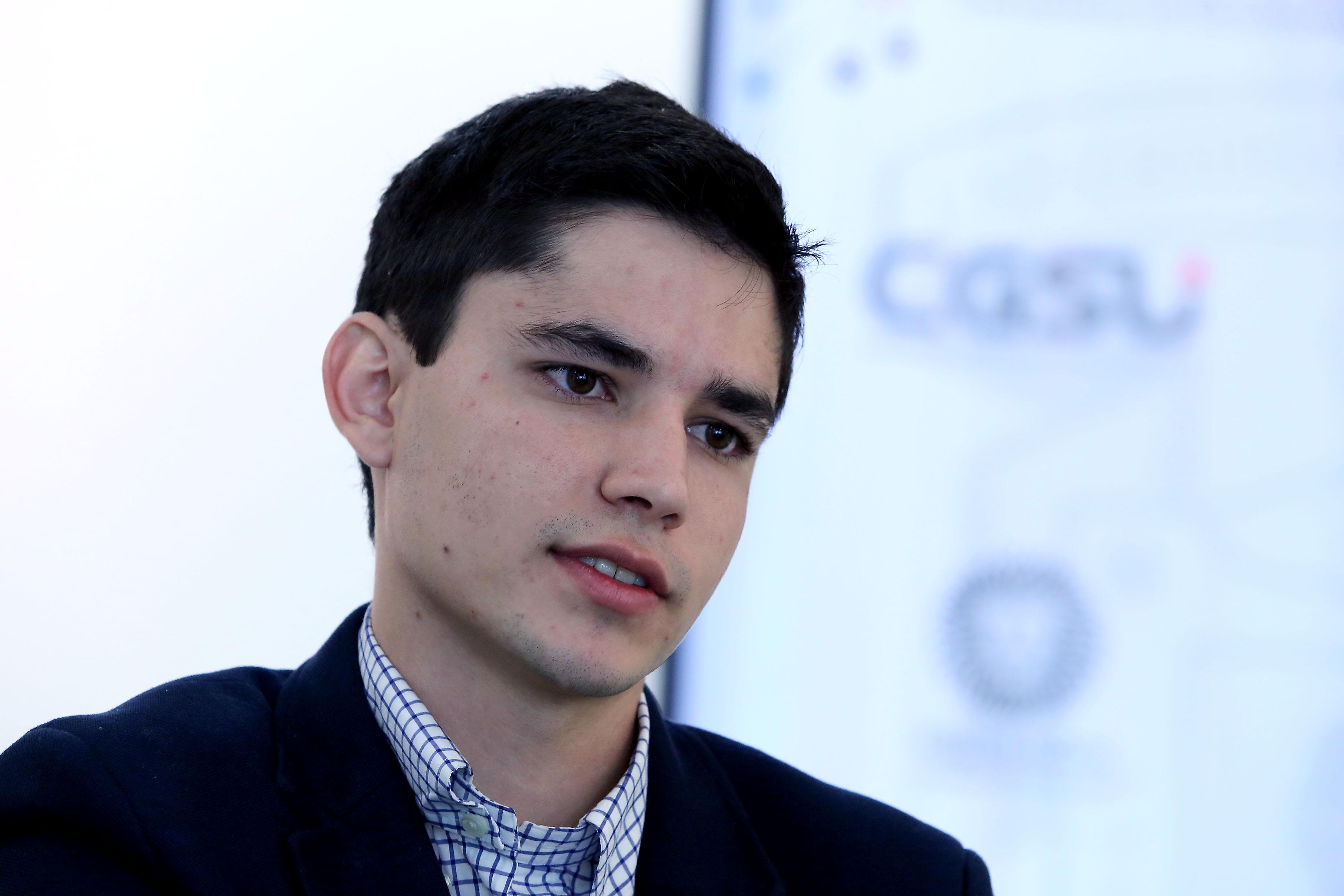 Luis Enrique Martín Ramírez, beneficiario del programa de entrenamiento que se realizará en Brasil