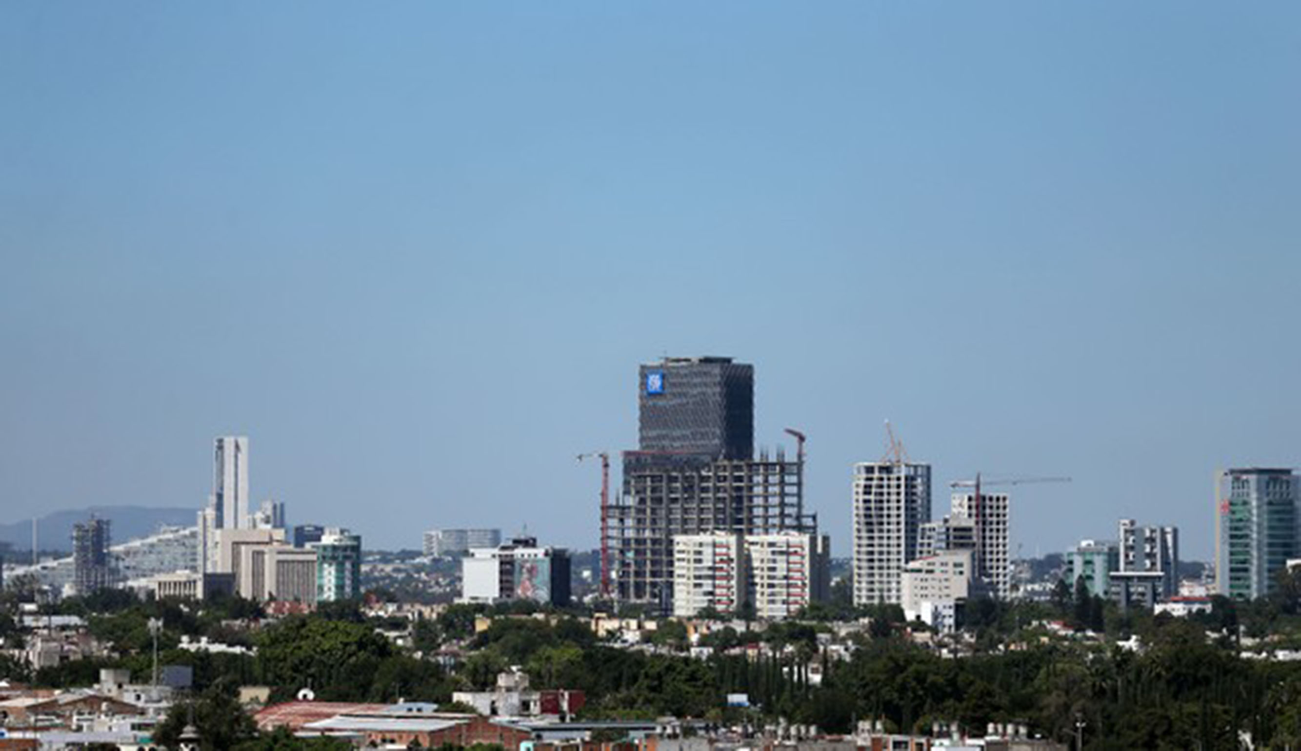 Edificios de la zona metropolitana