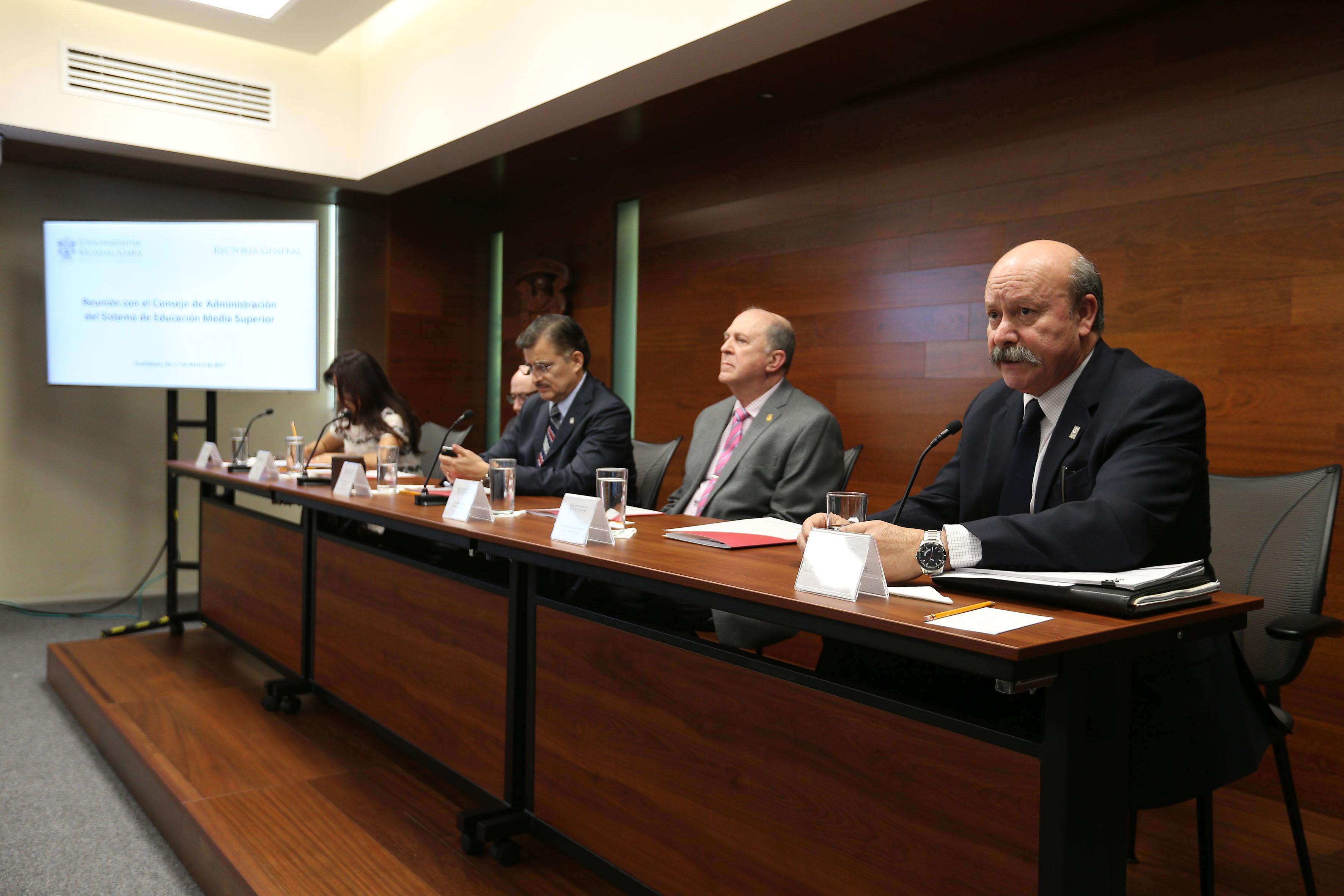 Reunión del Consejo de Administración del SEMS