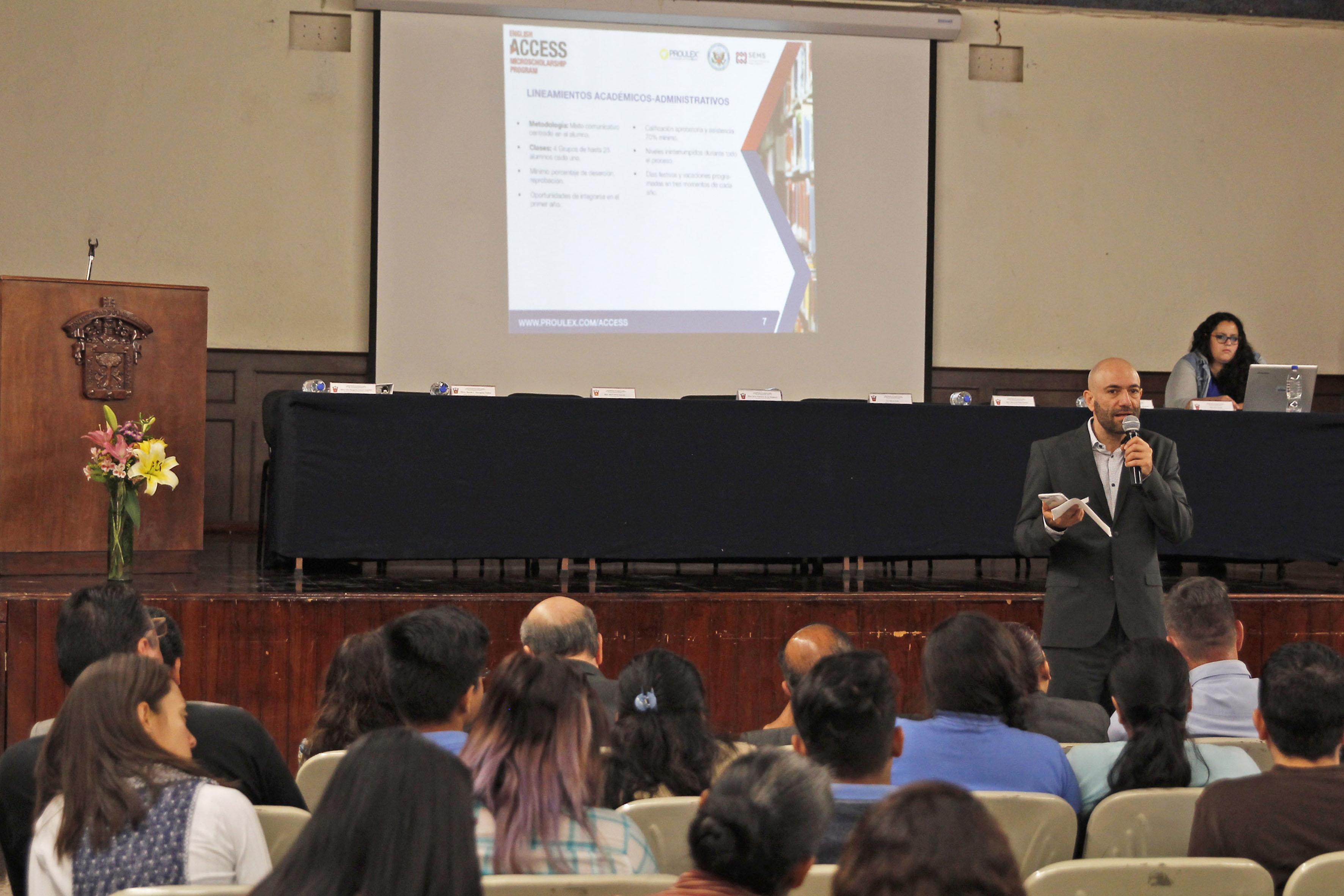 Edwin Alfredo Bello Ramírez, director general del sistema corporativo Proulex