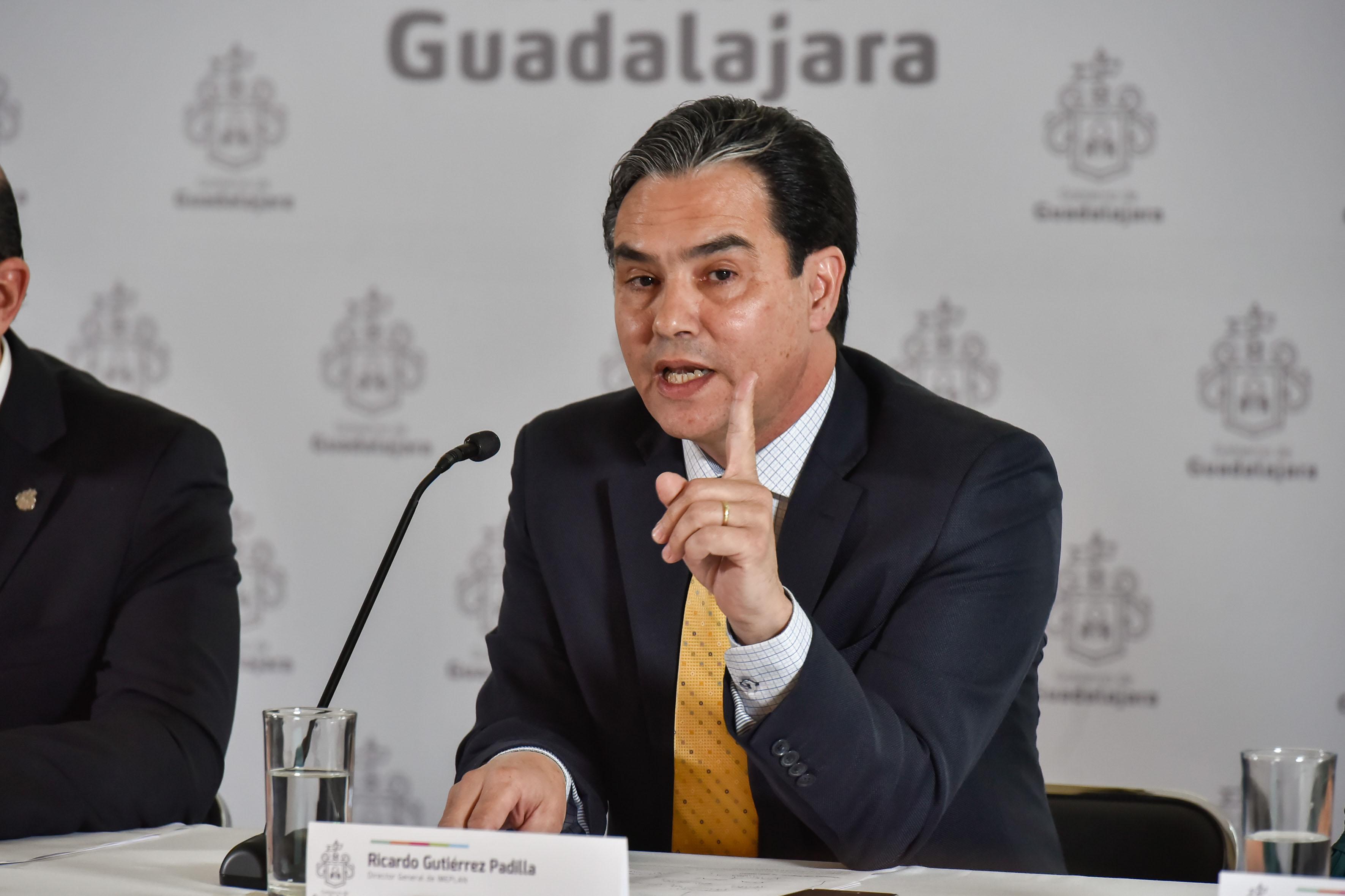 Director del Instituto Metropolitano de Planeación (Imeplan), doctor Ricardo Gutiérrez Padilla