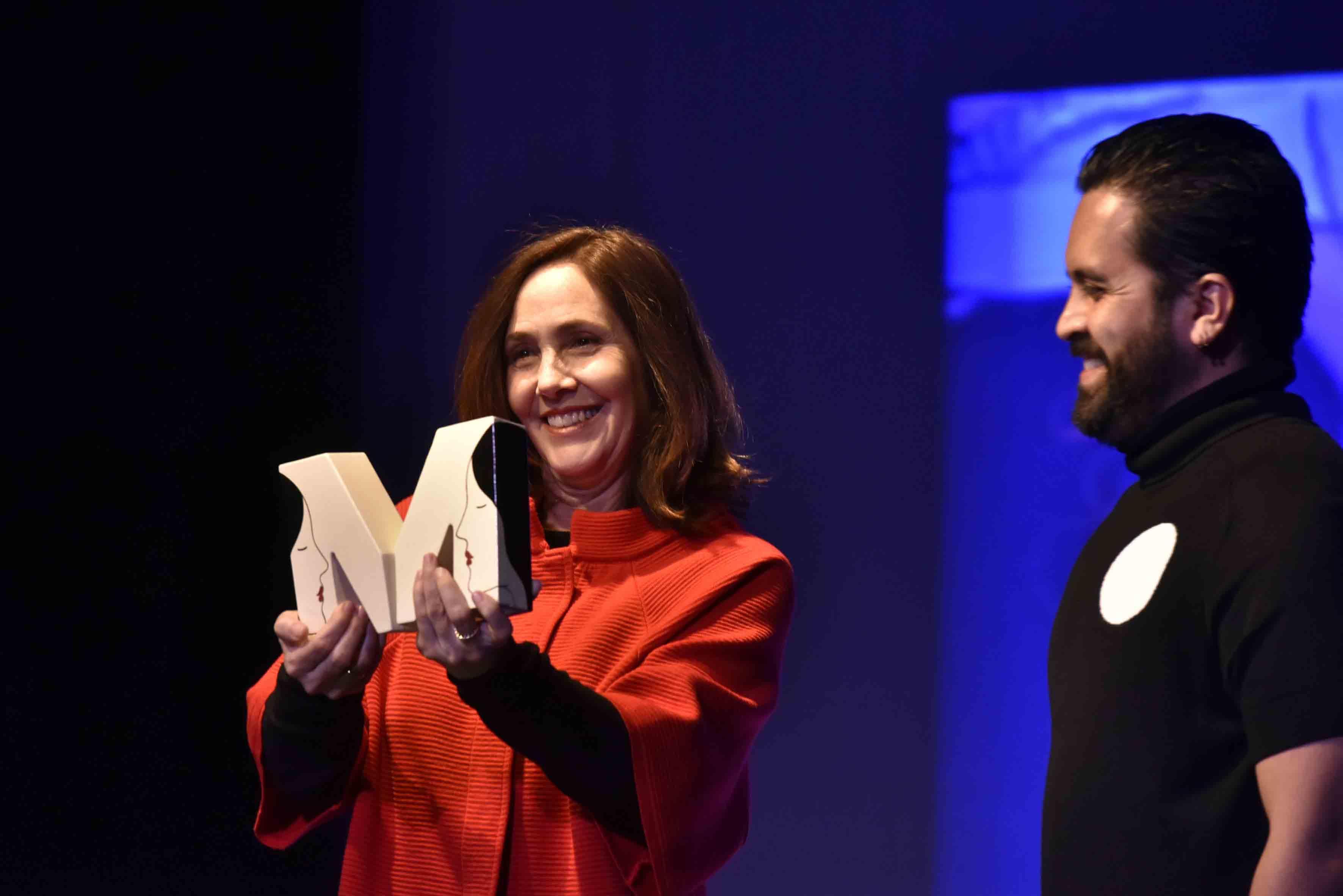 Recibe Mariela Castro Espín, el Premio Maguey por su activismo en favor de la comunidad Lésbico, Gay, Bisexual y Transexual (LGBT).