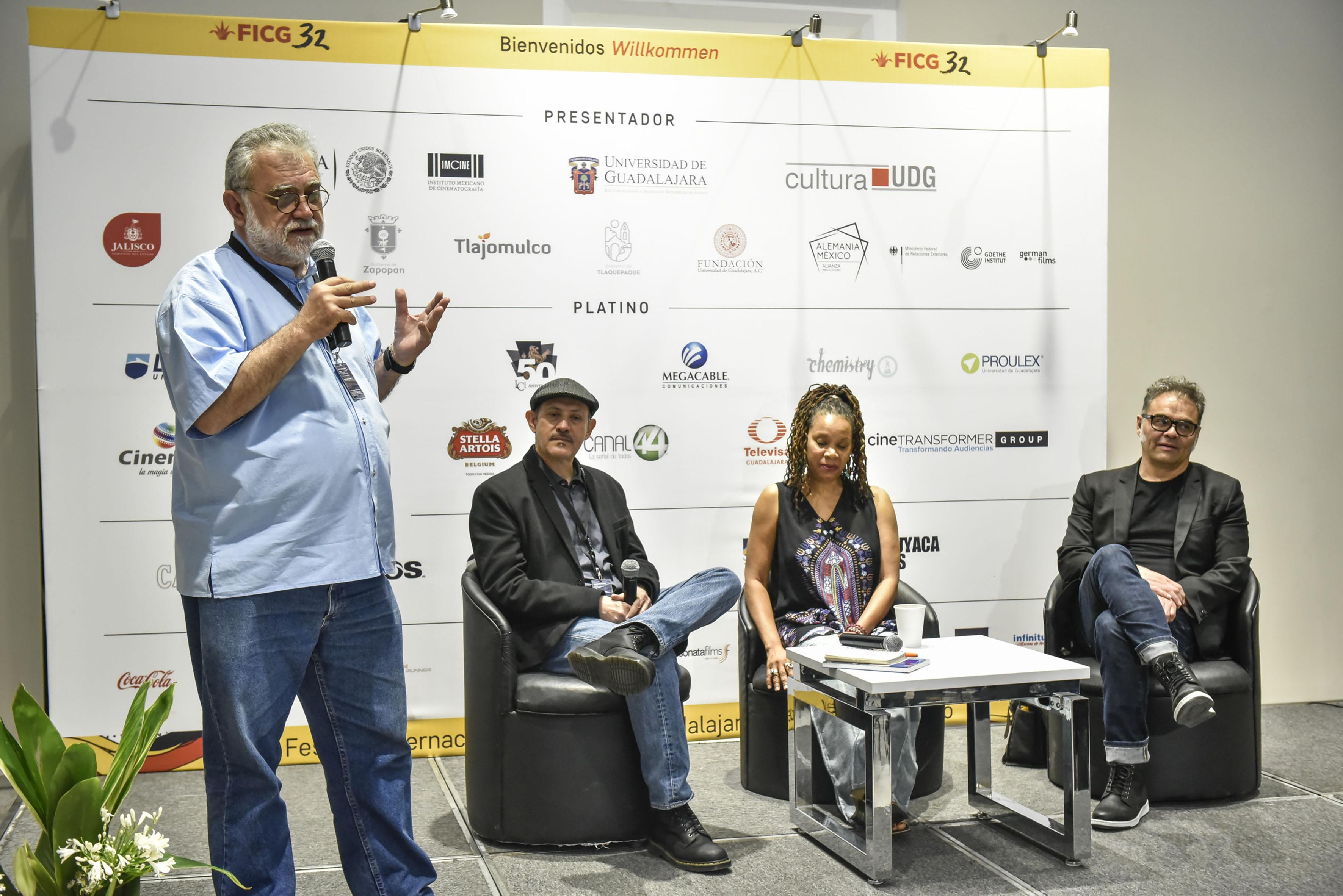 """Rueda de prensa para anunciar la sección """"Son de Cine"""", que forma parte del FICG"""