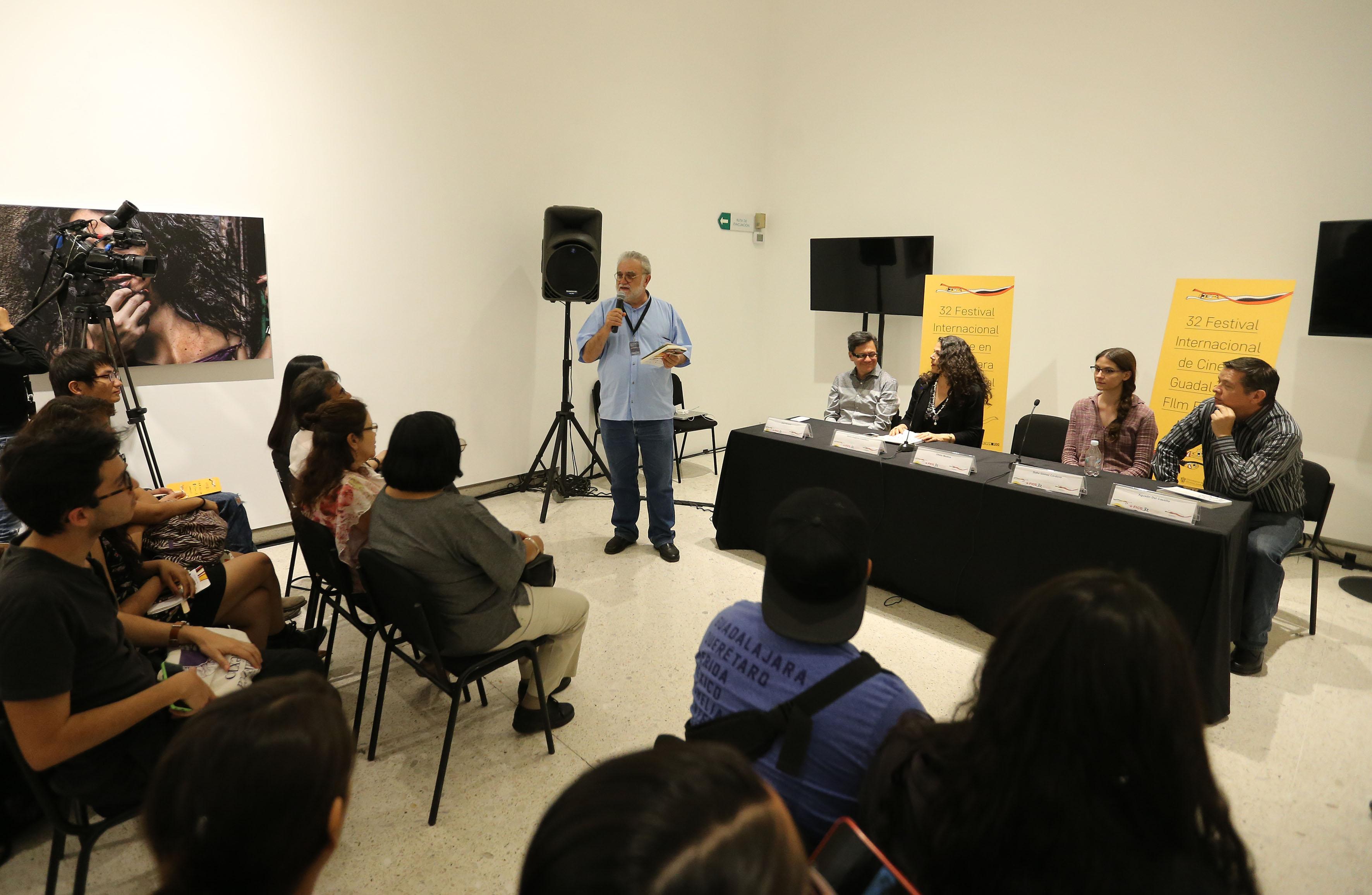 Presentación numero 86 de la revista literaria de la Universidad de Guadalajara (UdeG), en el marco del 32 Festival Internacional de Cine en Guadalajara (FICG)