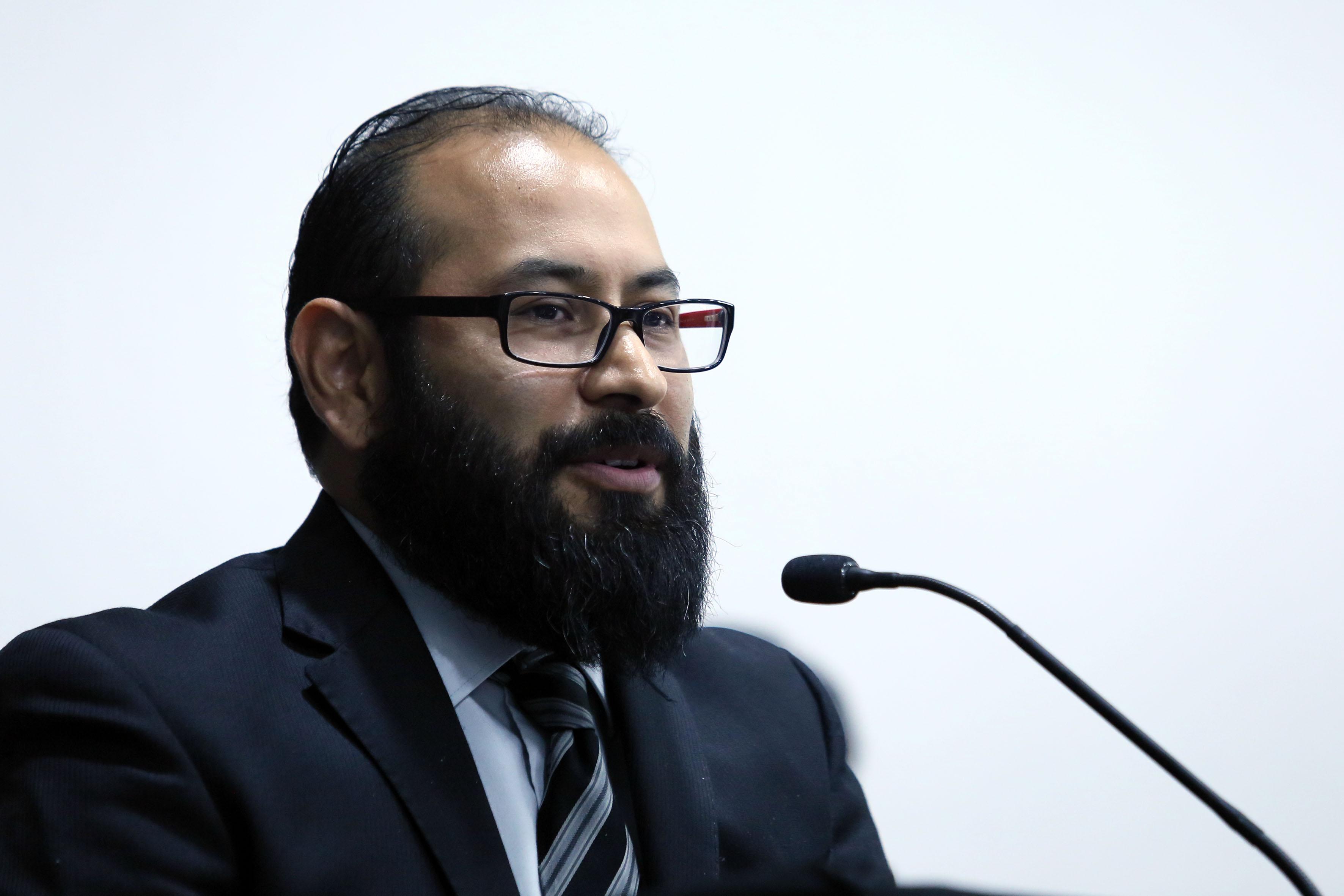 Coordinador de esta licenciatura, doctor Carlos Emiliano Vidales Gonzáles