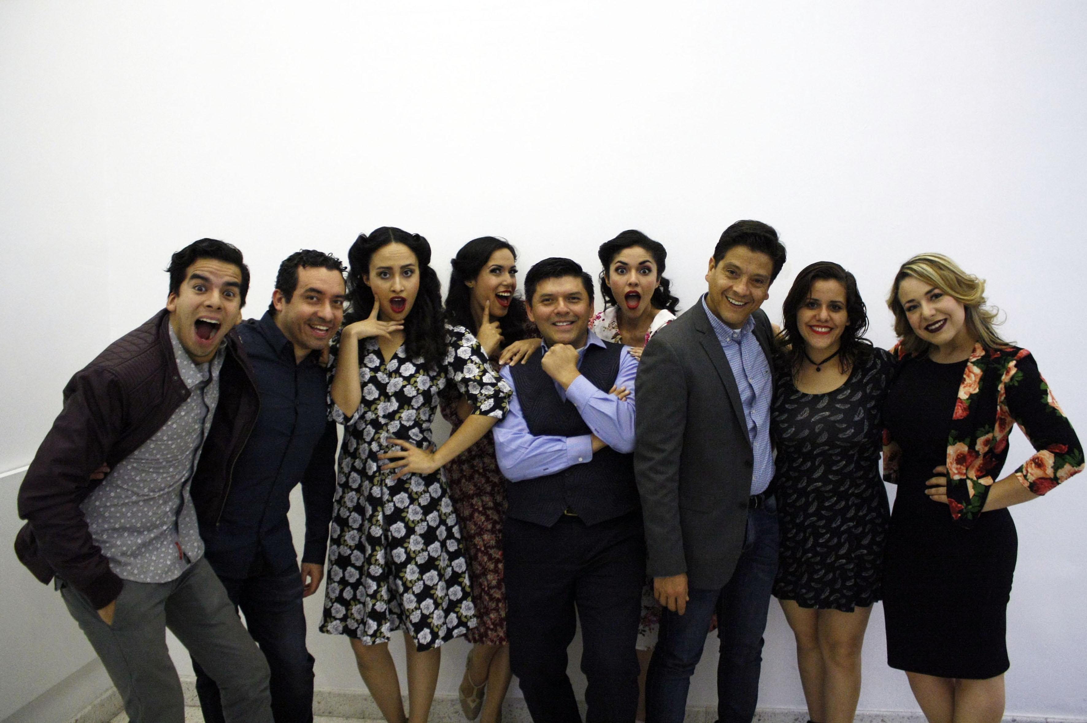 Actores de la obra