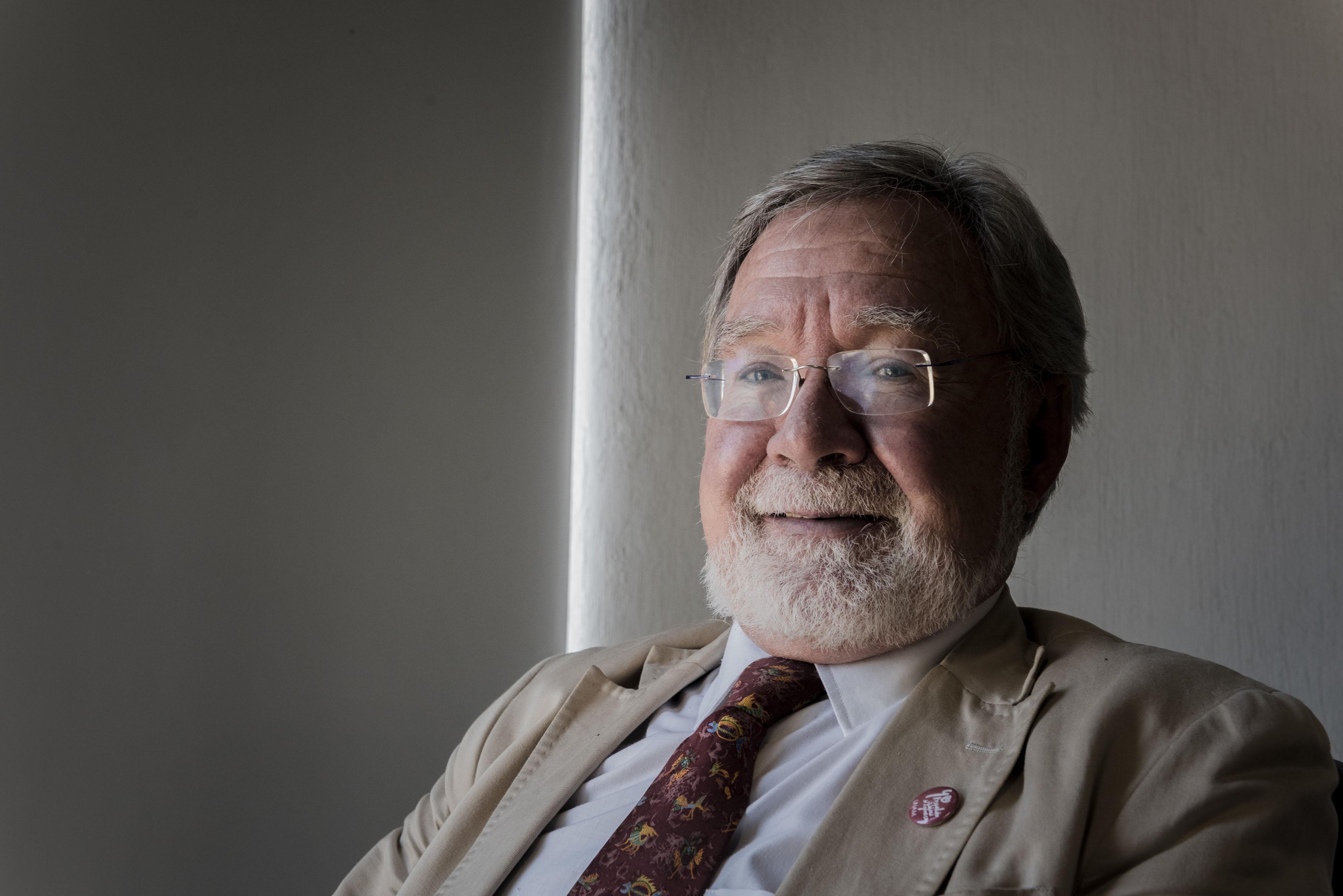 Doctor Carlos Gay García, coordinador del Programa de Investigación en Cambio Climático de la UNAM.
