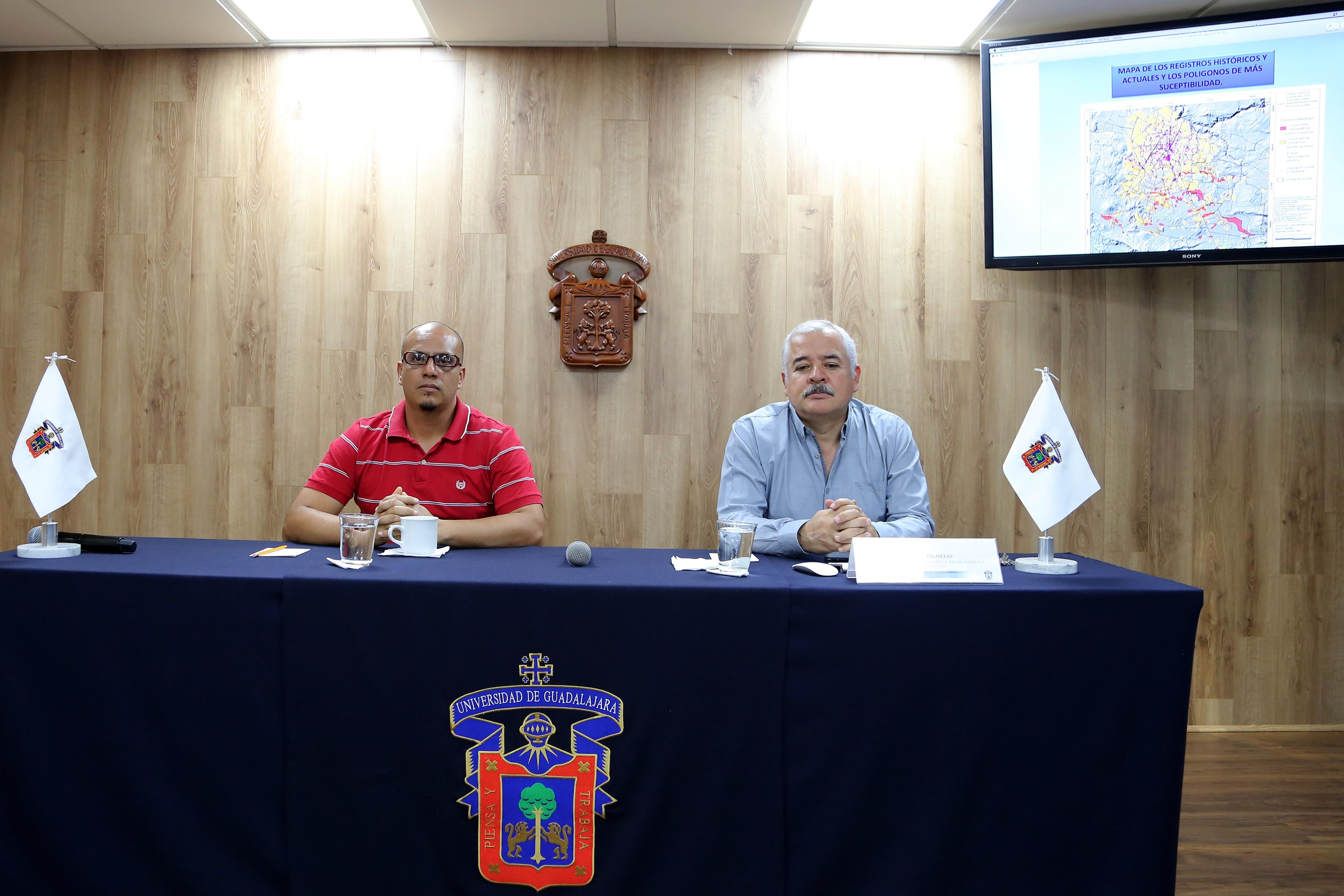 rueda de prensa para anunciar una propuesta de solución integral a las inundaciones de la zmg