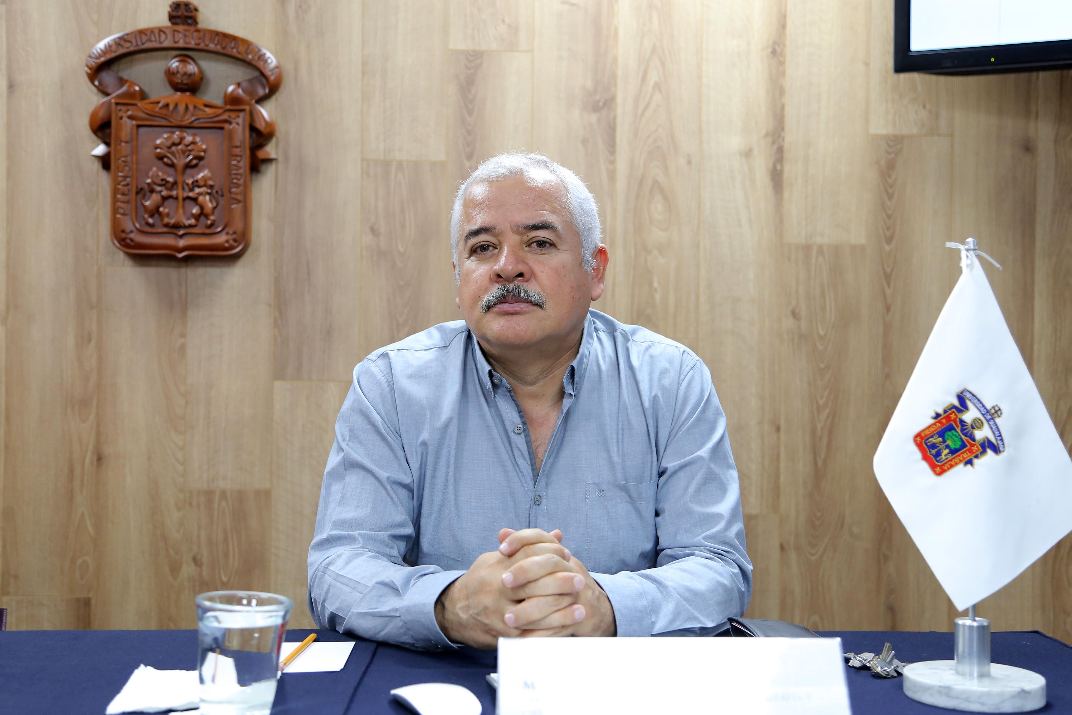 Mtro. Luis Valdivia Ornelas, investigador del Departamento de Geografía y Ordenación Territorial del Centro Universitario de Ciencias Sociales y Humanidades (CUCSH)