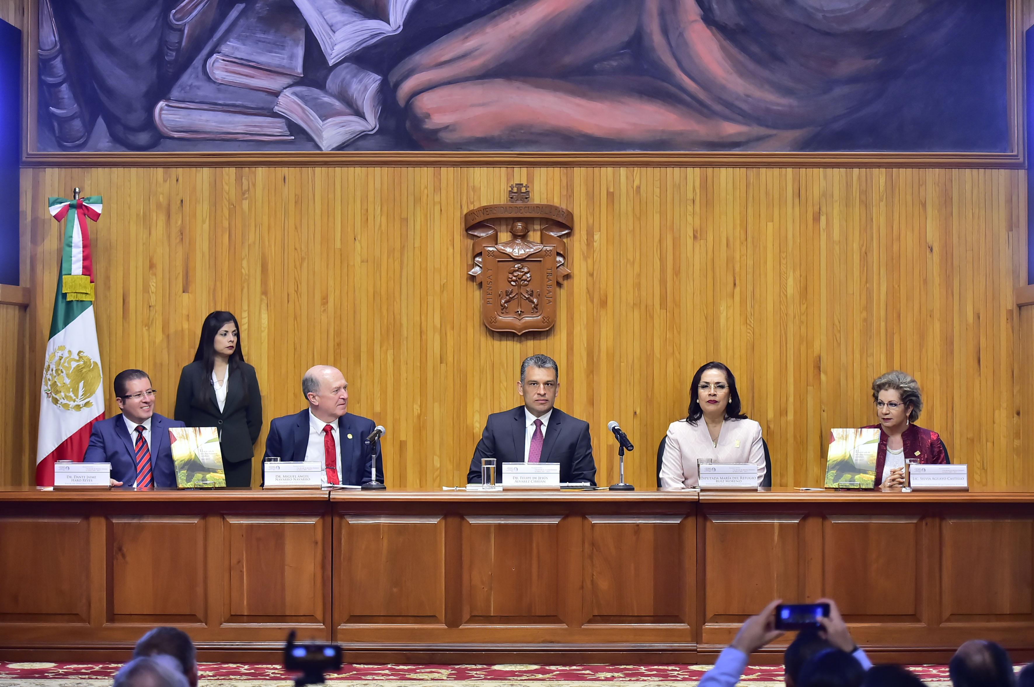Presentación del libro Una década de Derechos Humanos en Jalisco 2007-2017