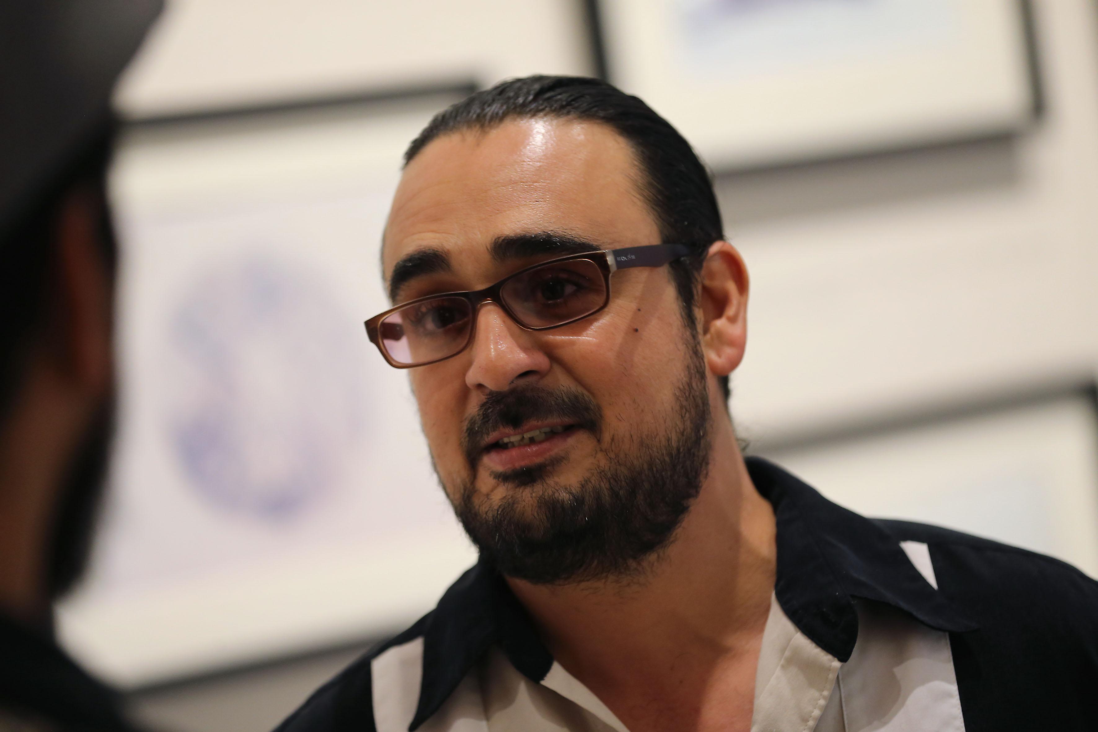 Director de la banda universitaria, maestro Tomas Gabriel Alemany Rosaleny.