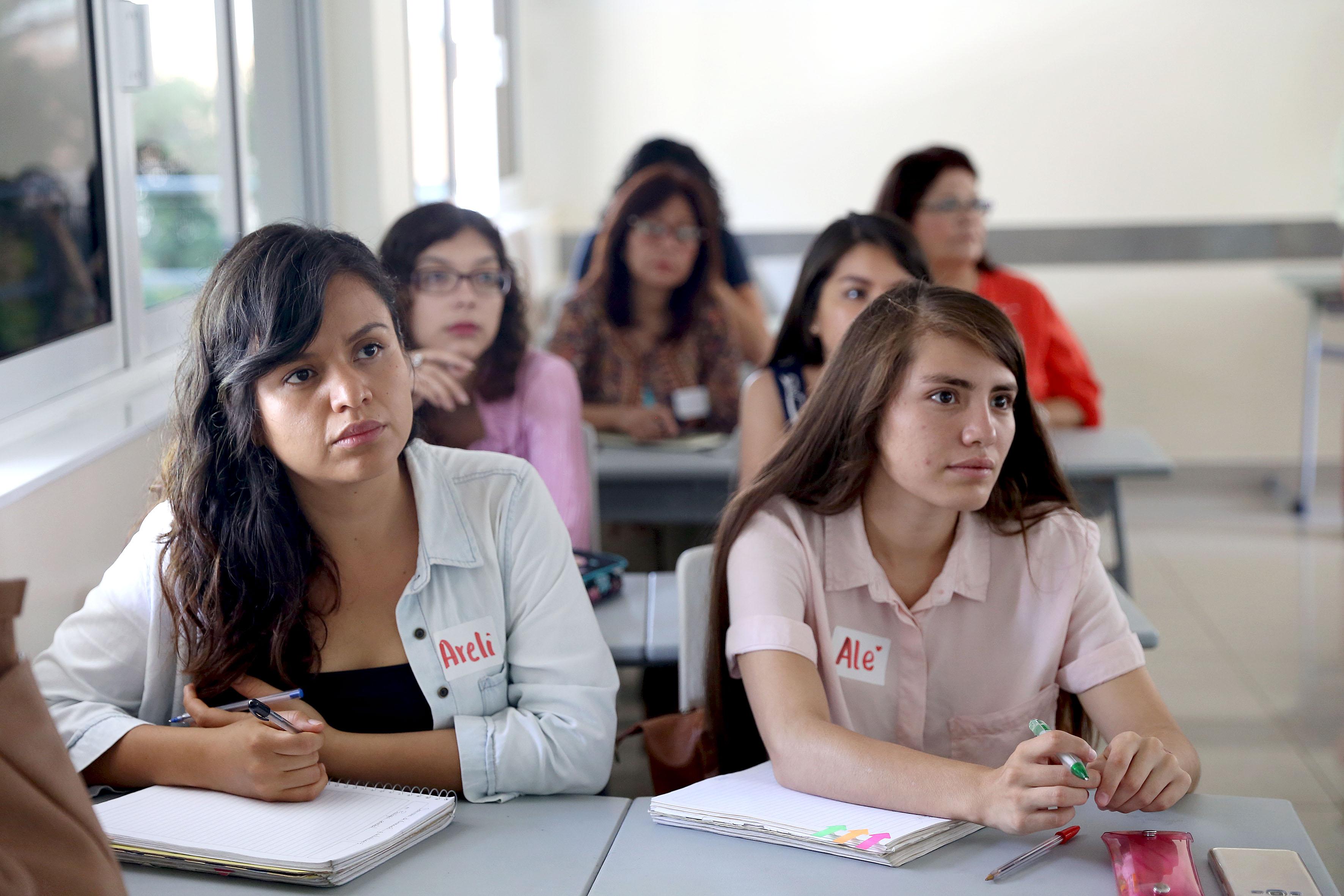 Alumnas en seminario de Actualizacion
