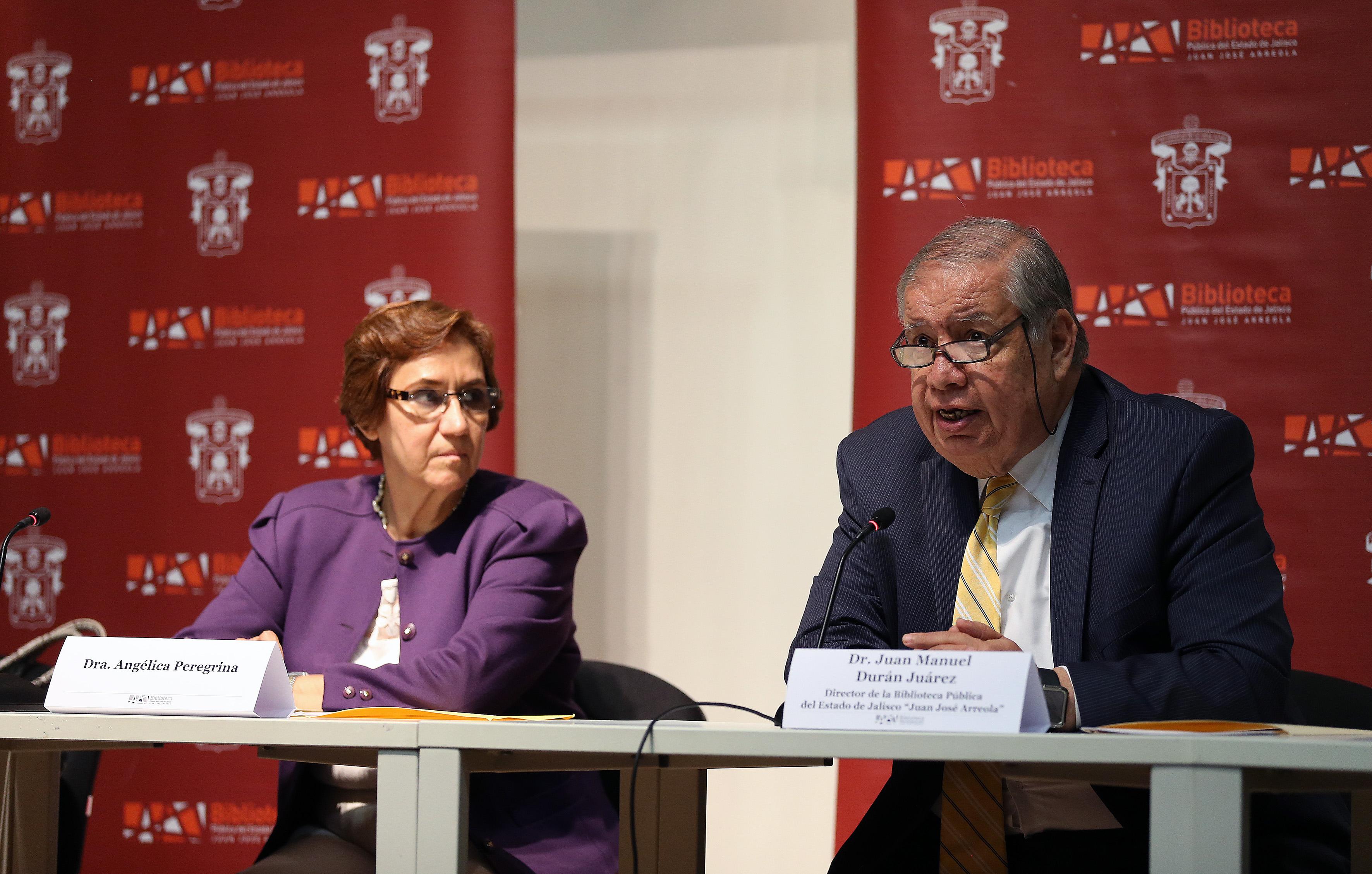 """Conferencia """"Mariano Otero"""", que la historiadora Angélica Peregrina impartió en la Biblioteca Pública del Estado de Jalisco """"Juan José Arreola"""""""