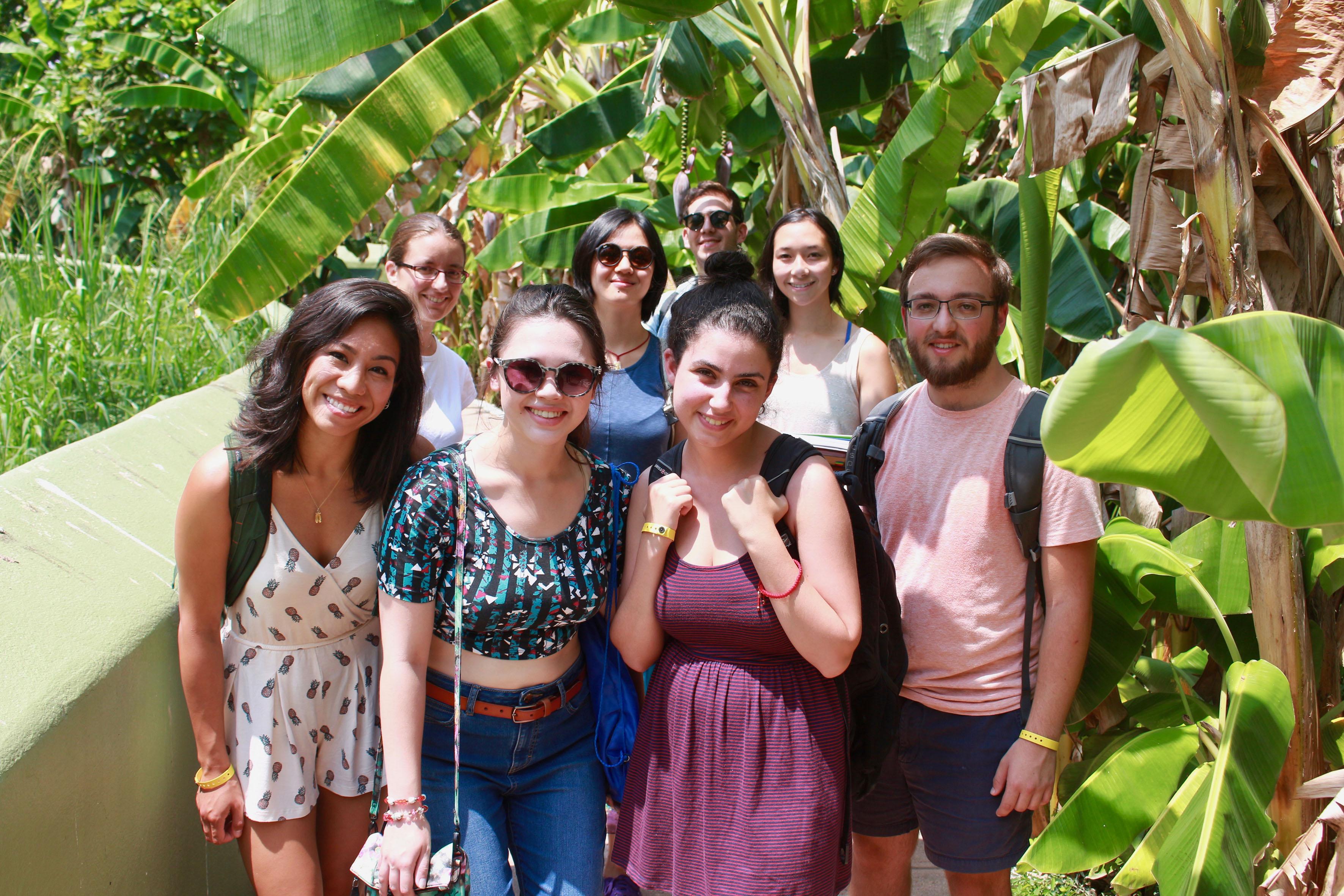 Estudiantes del programa de español para extranjeros del CUCosta.