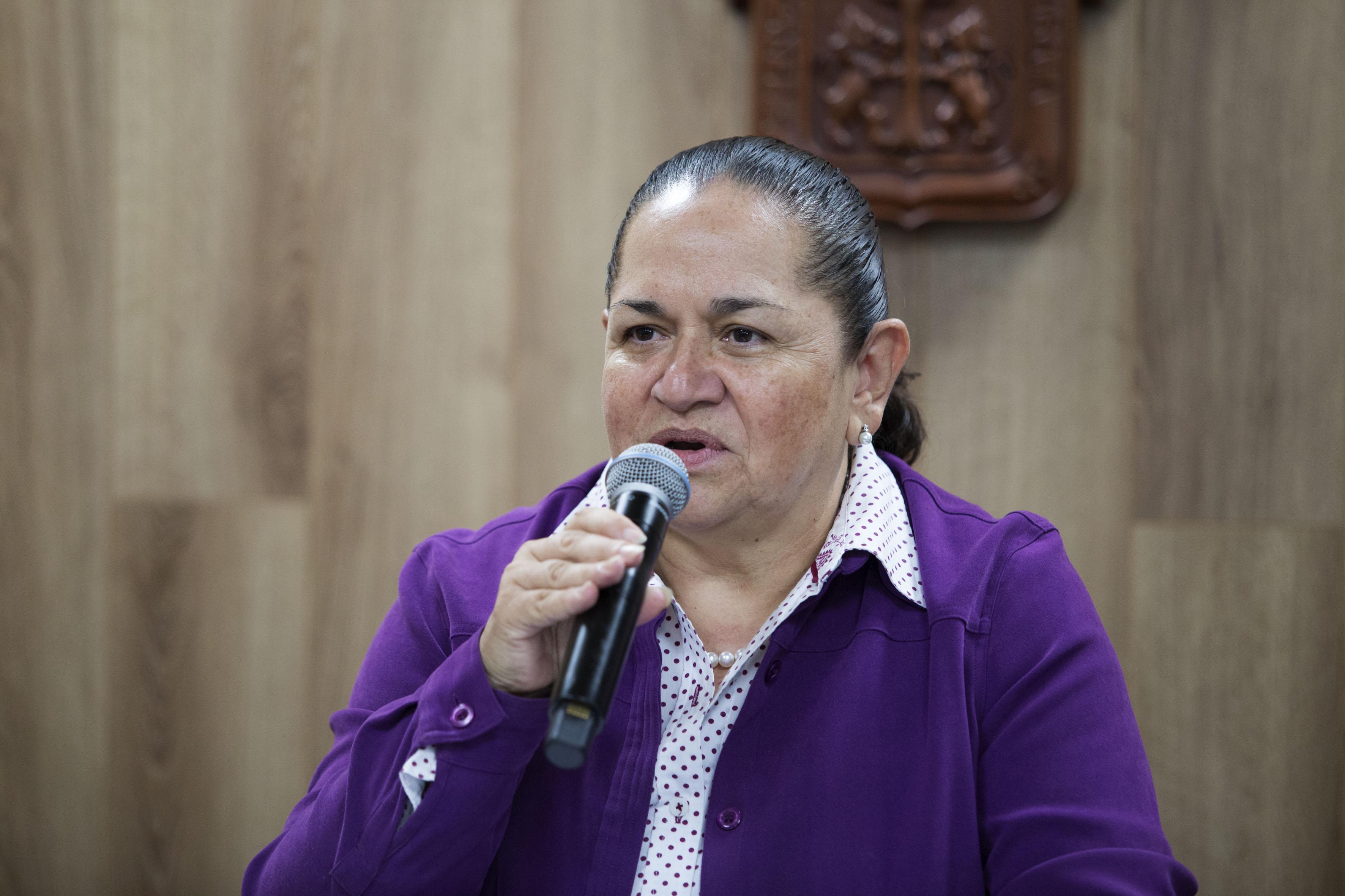 Doctora Sonia Reynaga Obregón