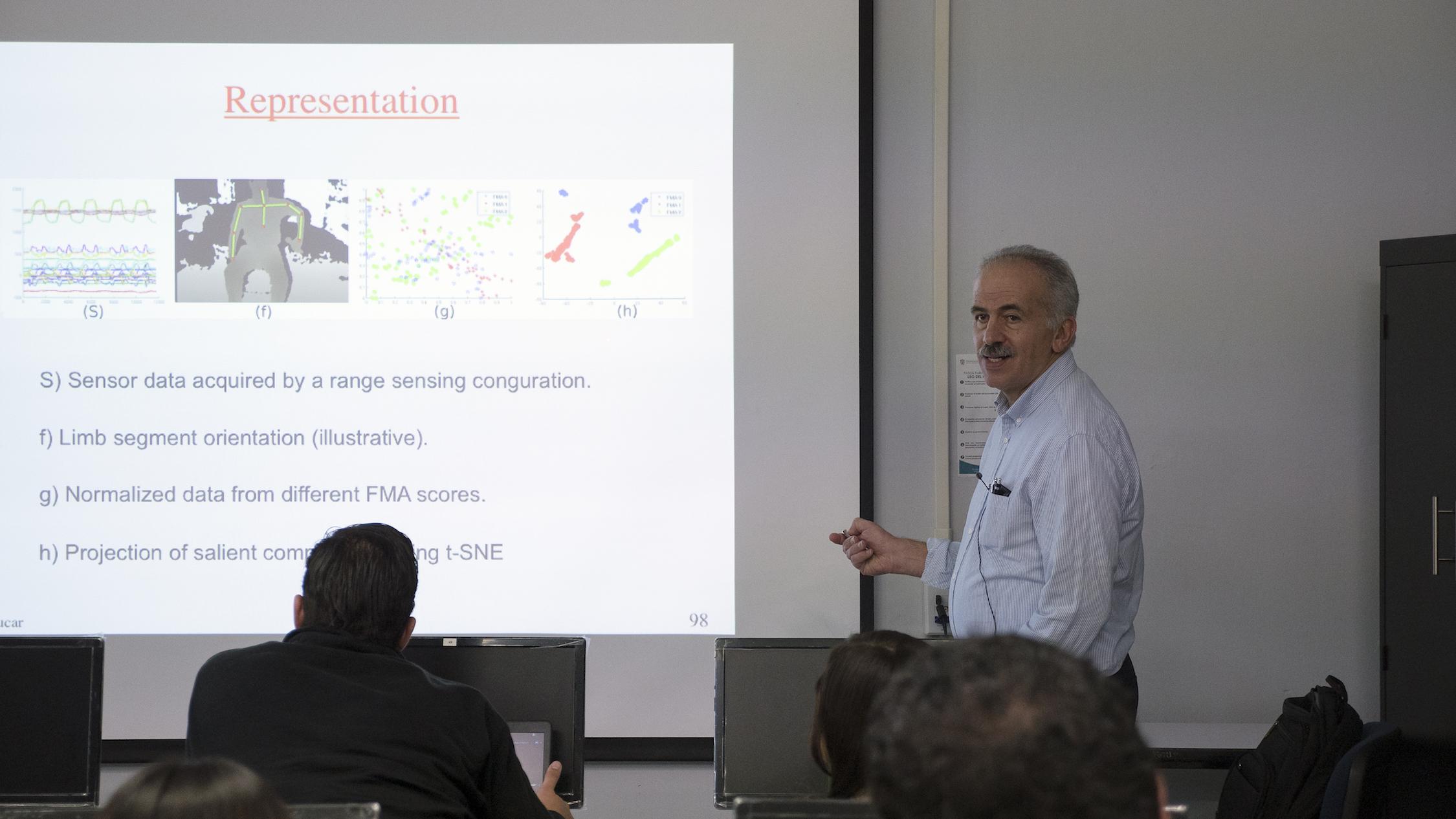 Dr Luis Enrique Sucar Succar,  galardonado en 2016 con el Premio Nacional de Ciencias,