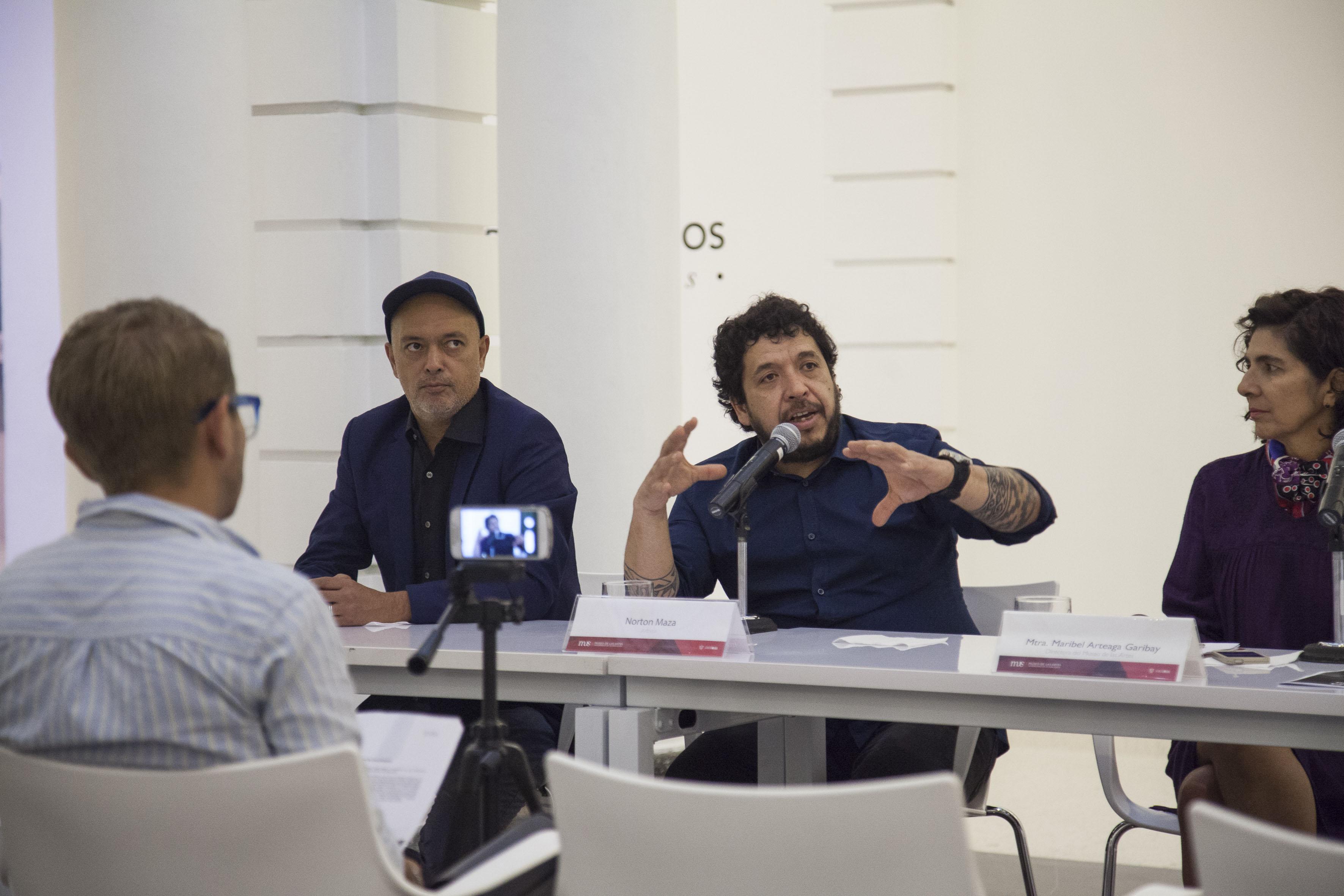 Artista chileno Norton Maza hará una residencia artística, del 12 de septiembre al 18 de octubre