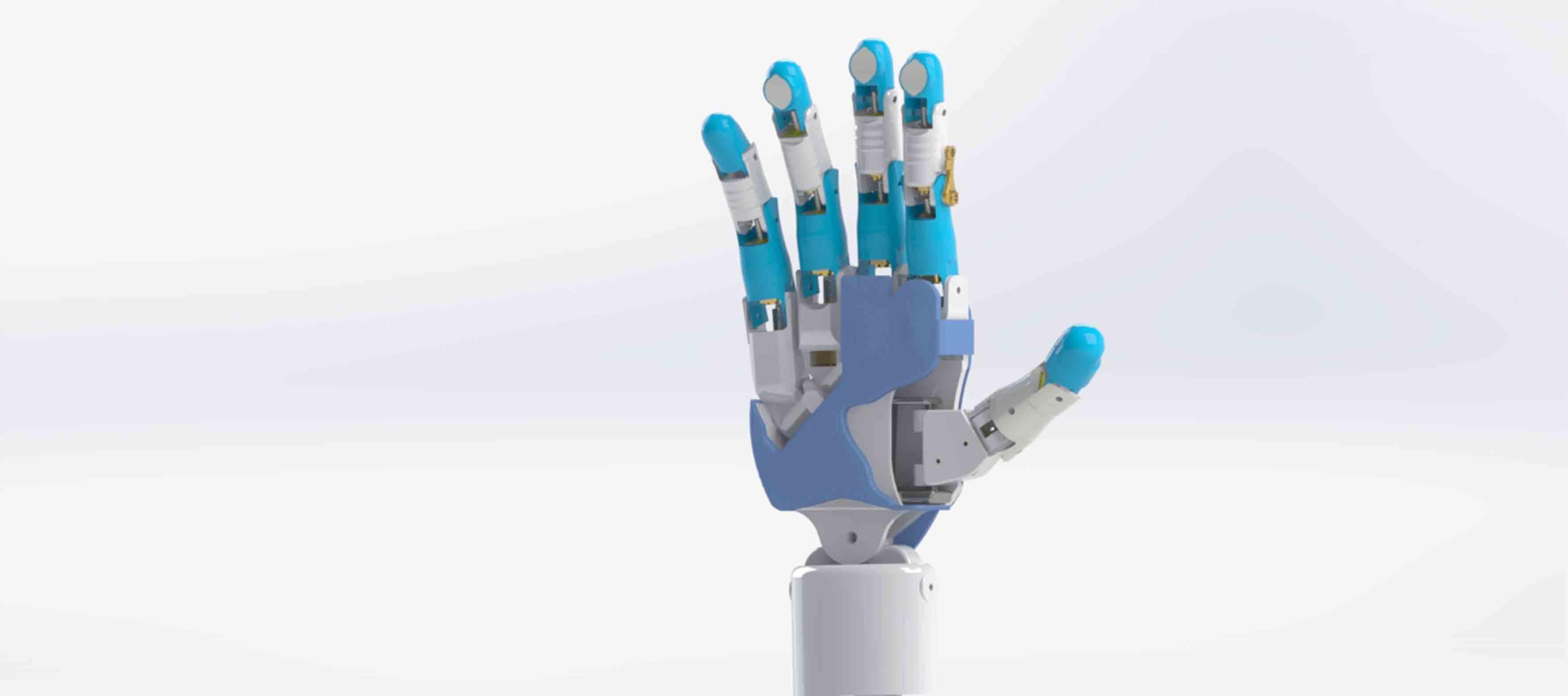 Prótesis robótica de mano para personas con desarticulación de la muñeca diseñada por académicos y estudiantes del CUCEI.