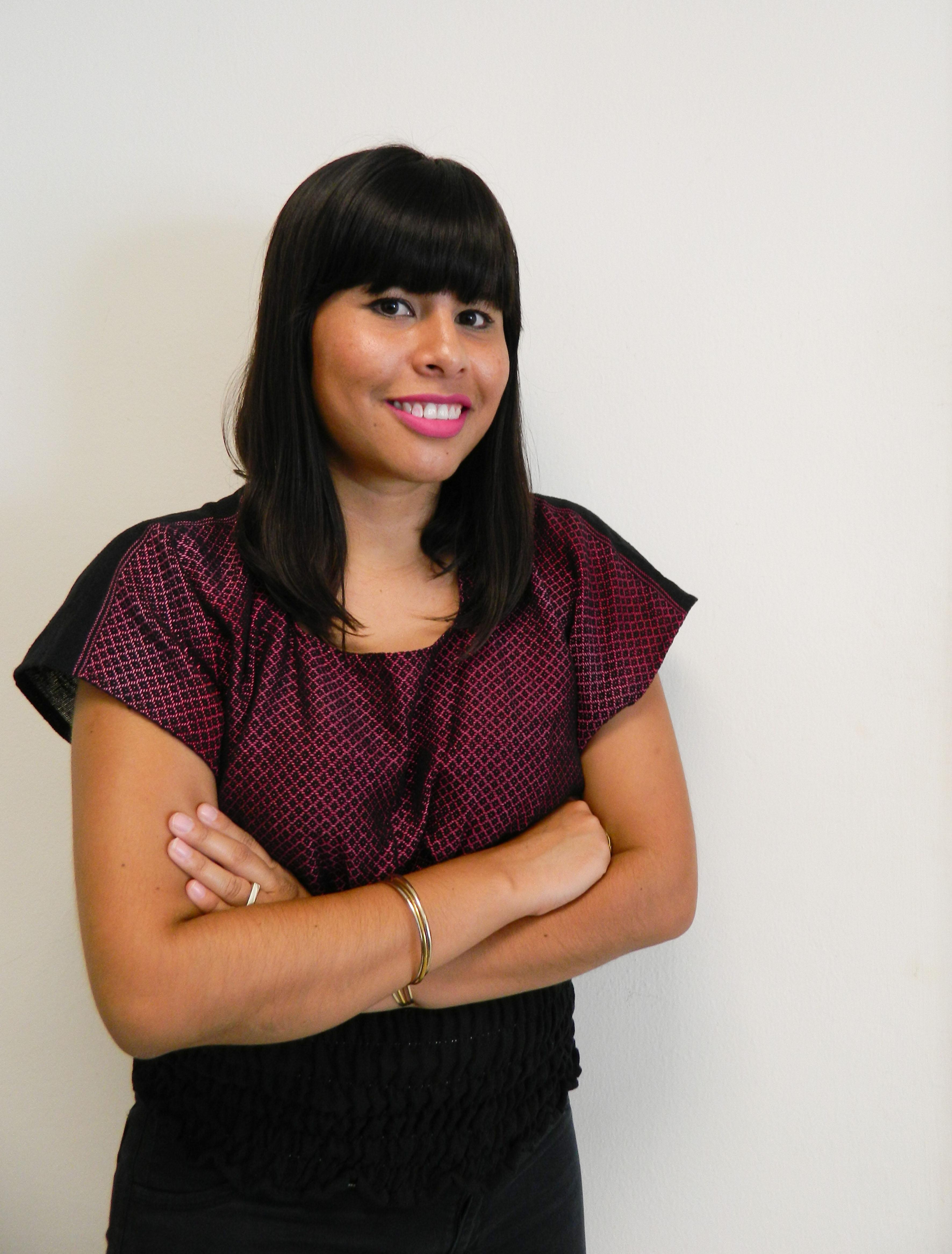 Priscila Hernández Flores, profesora de la licenciatura en Periodismo Digital de UDGVirtual.