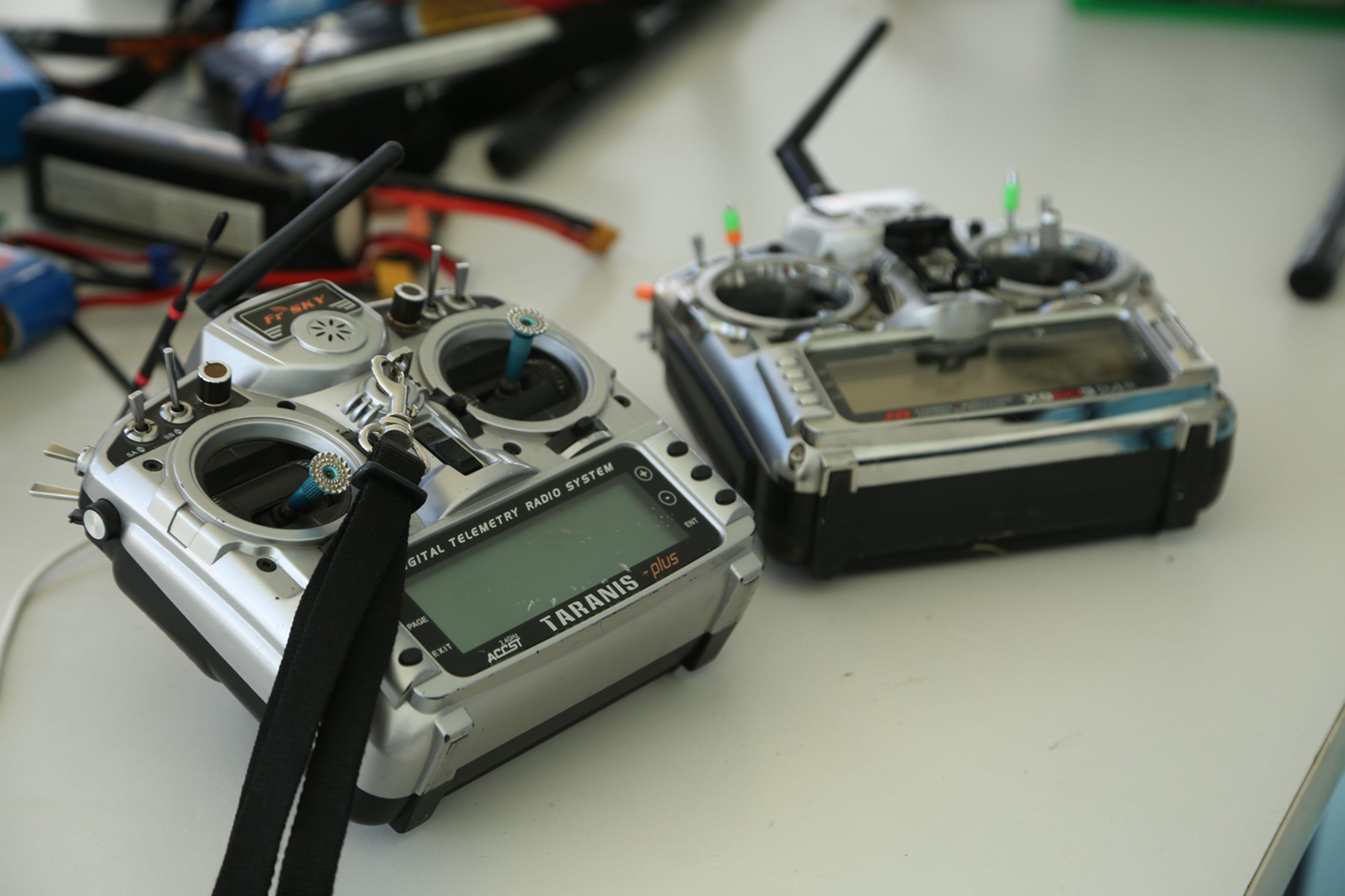 Equipo medidor digital de radio sistema.
