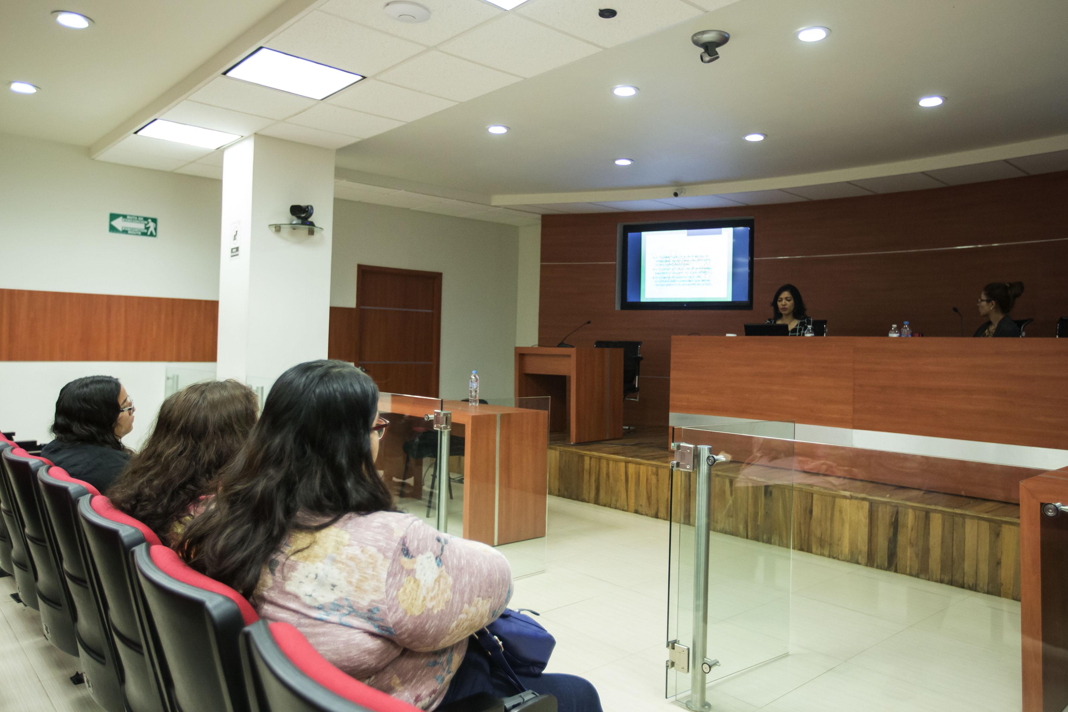 """Publico asistente al Seminario """"Tortura y feminicidio,"""""""