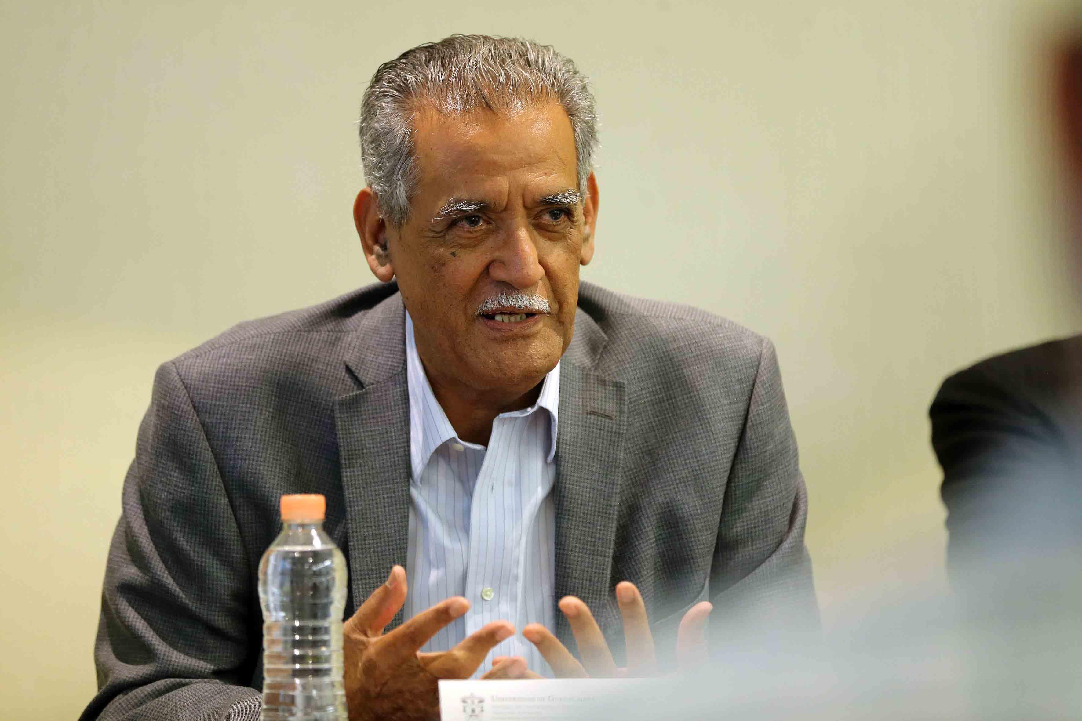 Mtro Manuel Moreno Castañeda, profesor del Departamento de Historia del Centro Universitario de Ciencias Sociales y Humanidades (CUCSH)