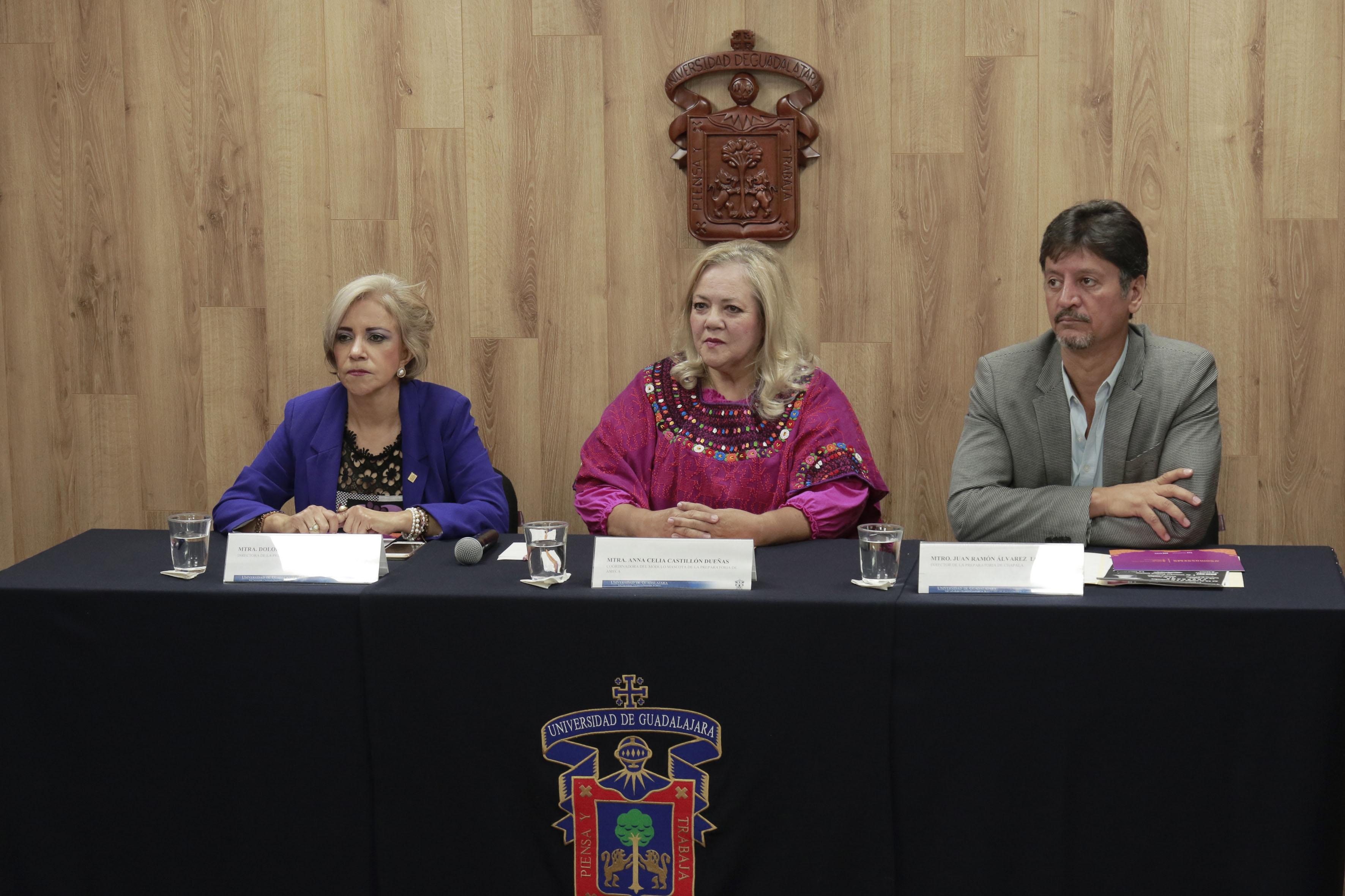 Rueda de prensa para anunciar el XII Festival del Día de Muertos en diversos planteles de SEMS