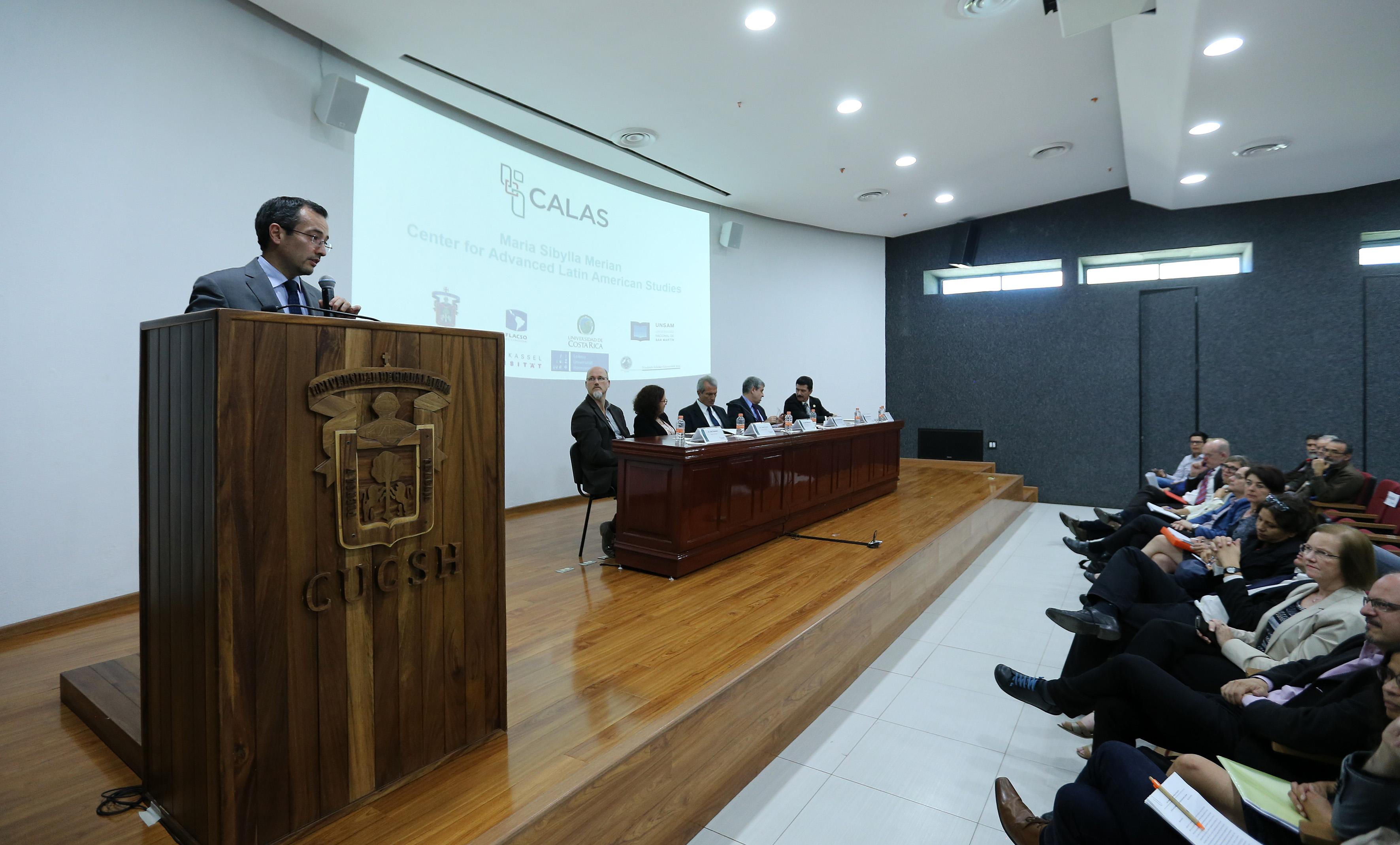 Carlos Iván Moreno Arellano, coordinador General de Planeación y Desarrollos Institucional haciendo uso de la palabra.