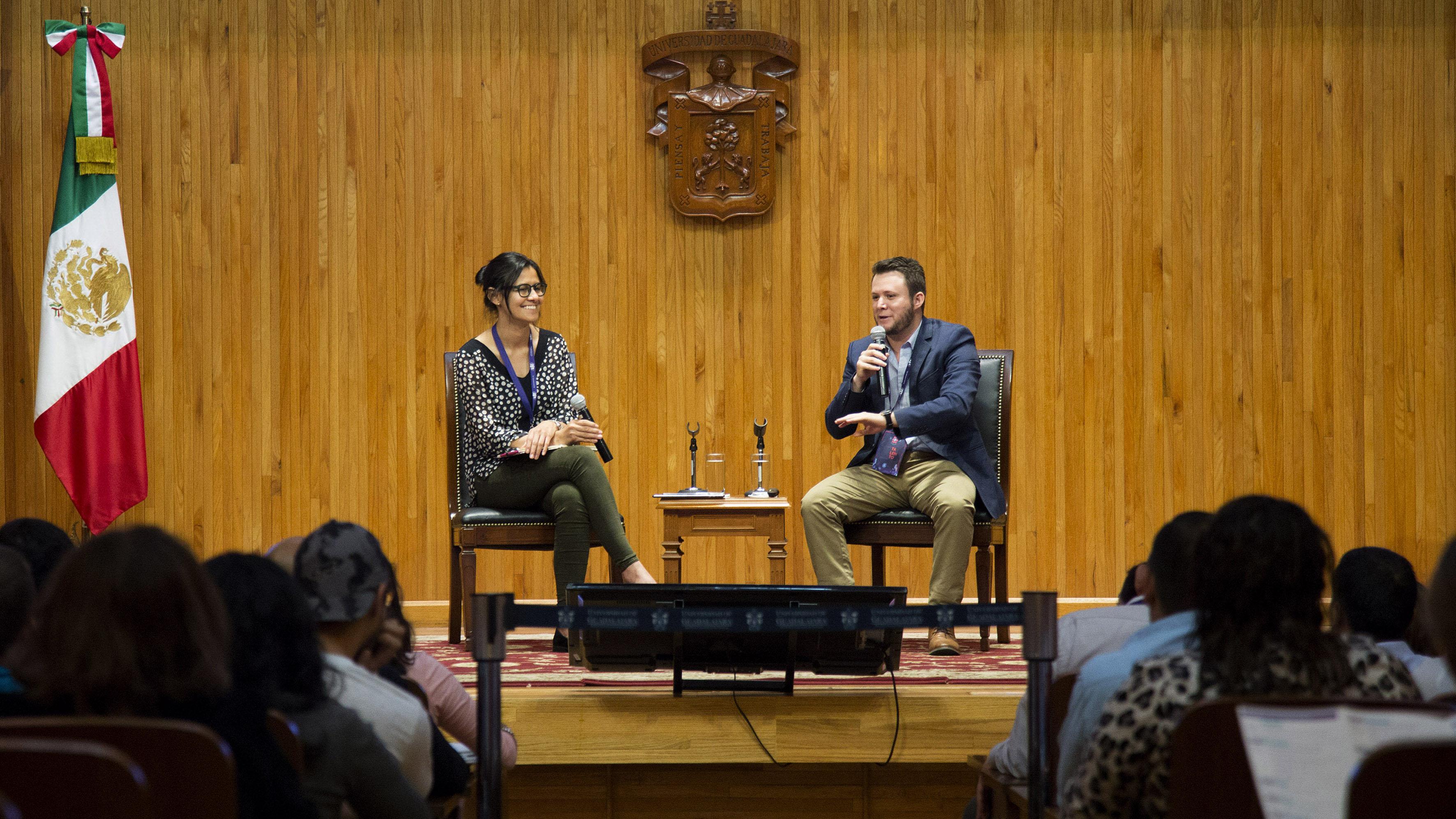 Charla de apertura del III Encuentro Latinoamericano de Innovación Social desde el Sector Público (ELIS), llevado a cabo en el Paraninfo Enrique Díaz de Léon