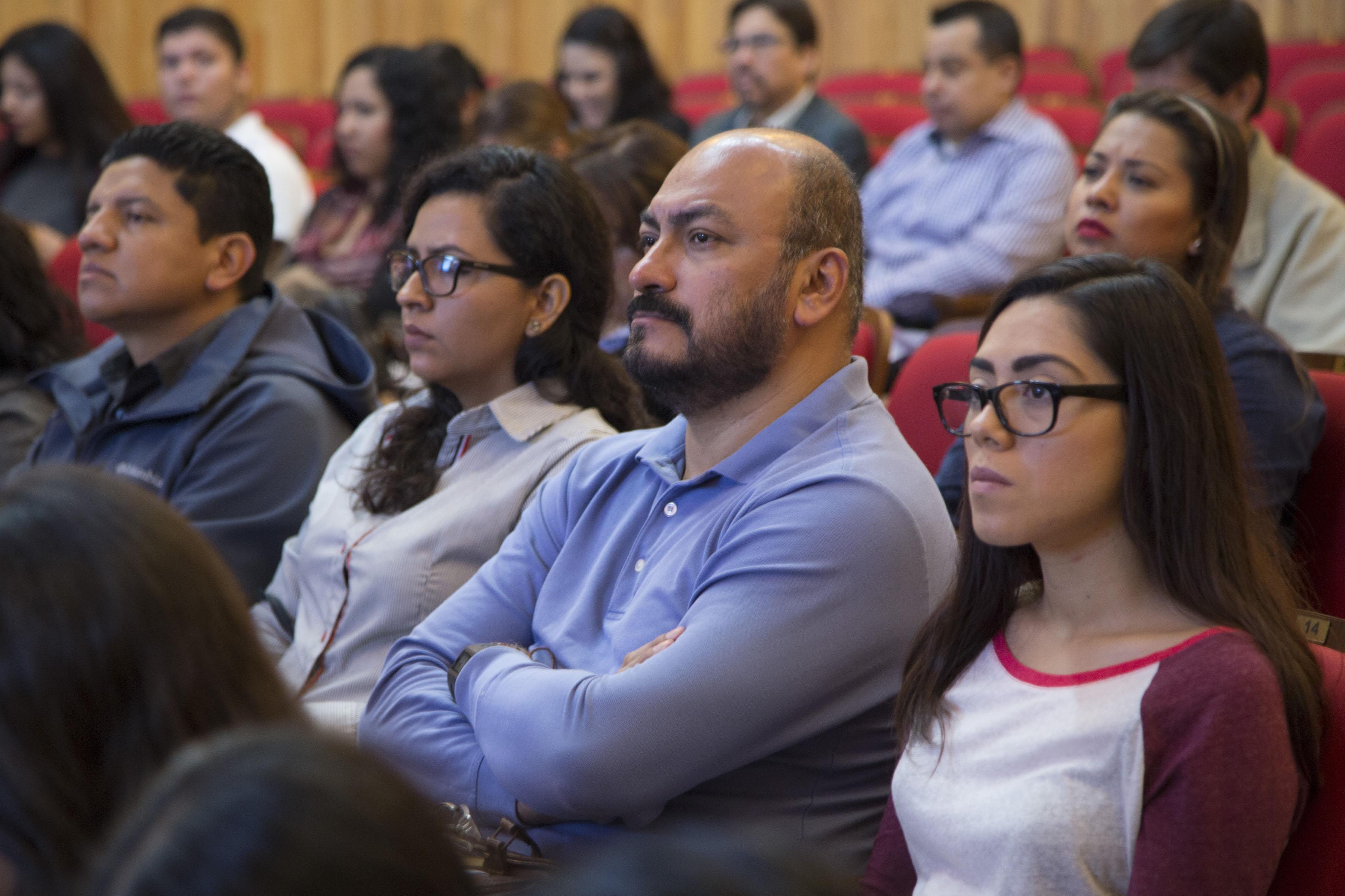 Público asistente al III Encuentro Latinoamericano de Innovación Social desde el Sector Público (ELIS), llevado a cabo en el Paraninfo Enrique Díaz de Léon