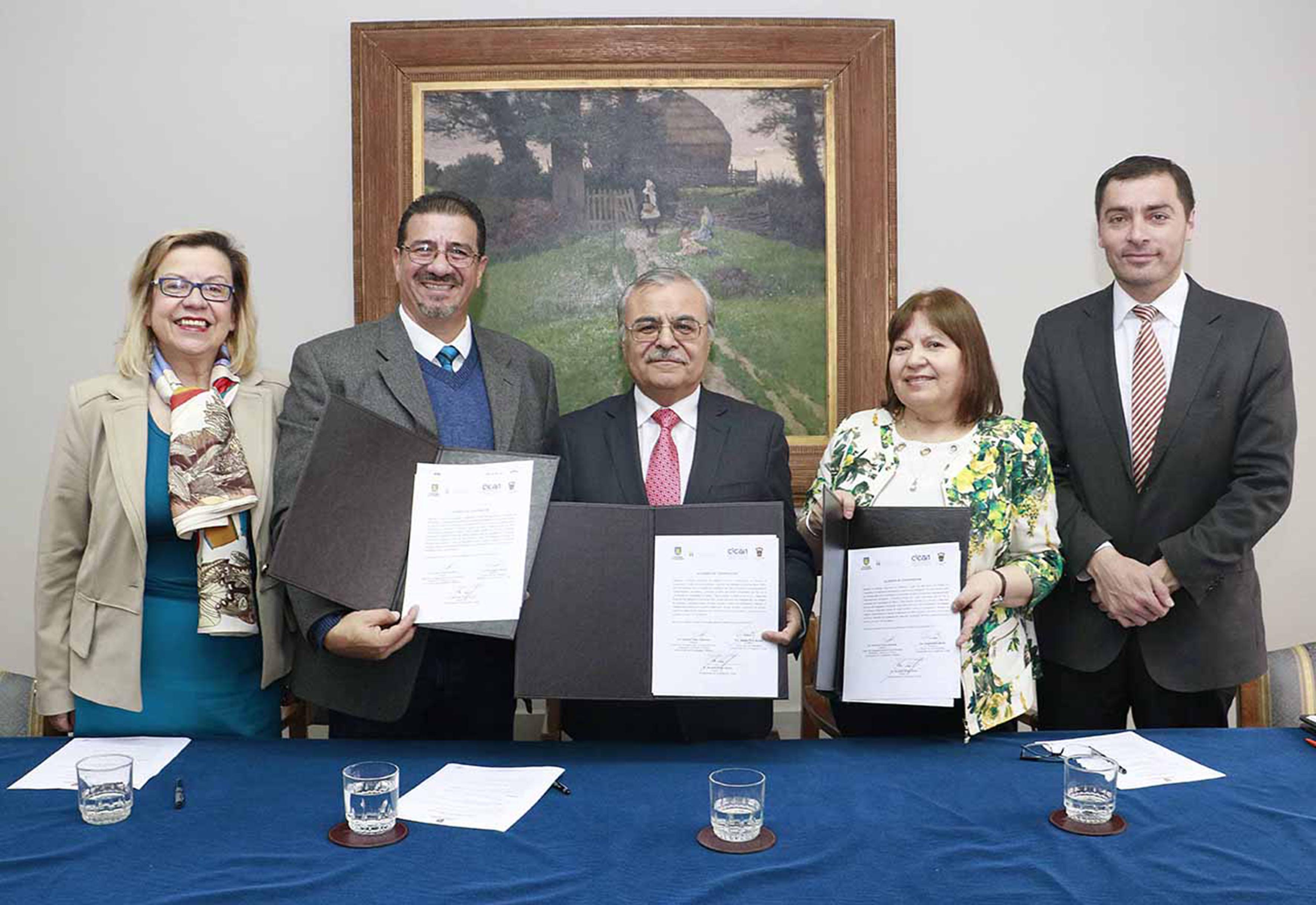 Centro de Investigaciones en Comportamiento Alimentario y Nutrición (CICAN) del Centro Universitario del Sur (CUSur), firmó un convenio de colaboración con el Centro de Vida Saludable (CVS) de la Universidad de Concepción, Chile para fortalecer la investigación multidisciplinaria del análisis de la alimentación