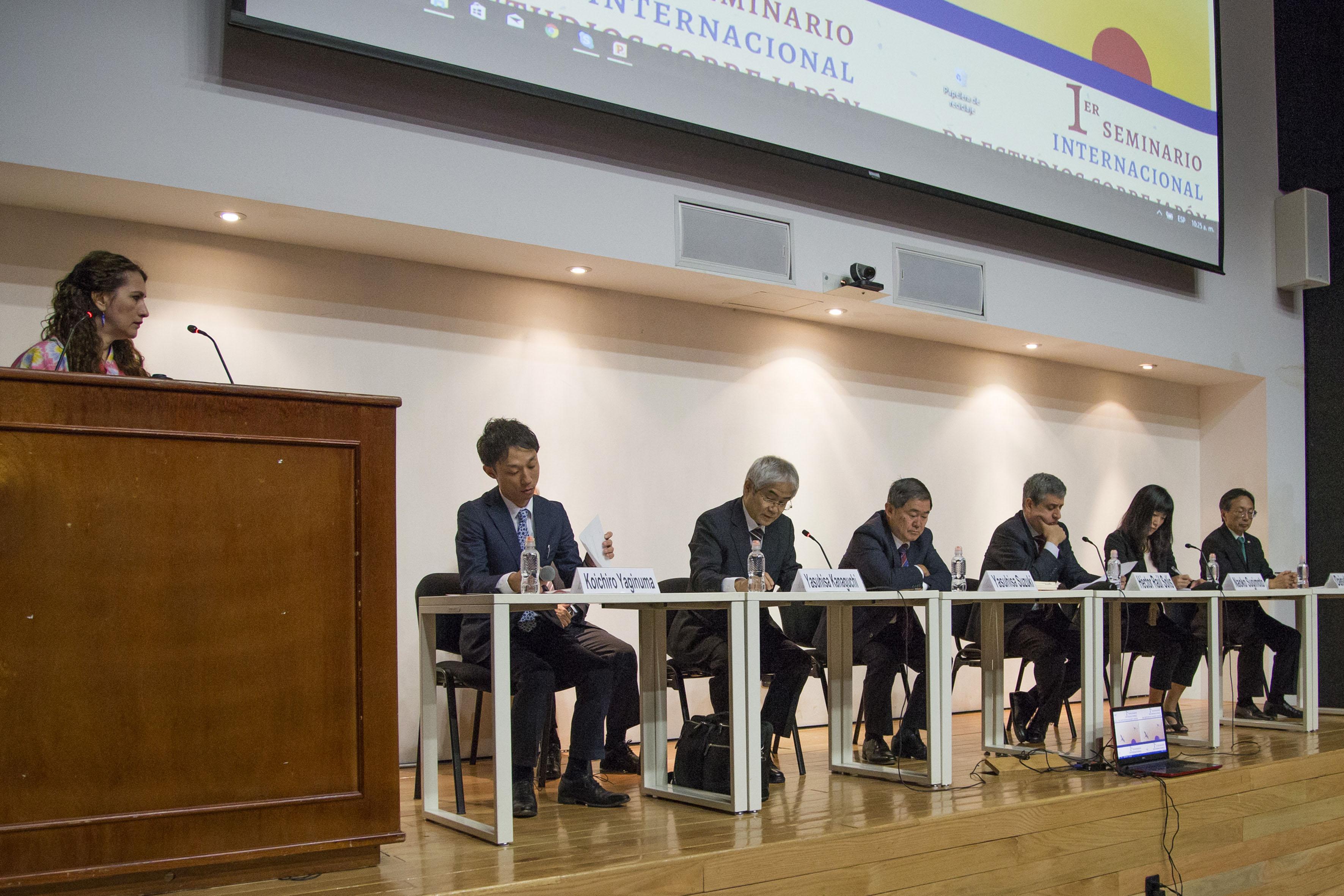 Inauguración del 1er Seminario Internacional de Estudios sobre Japón