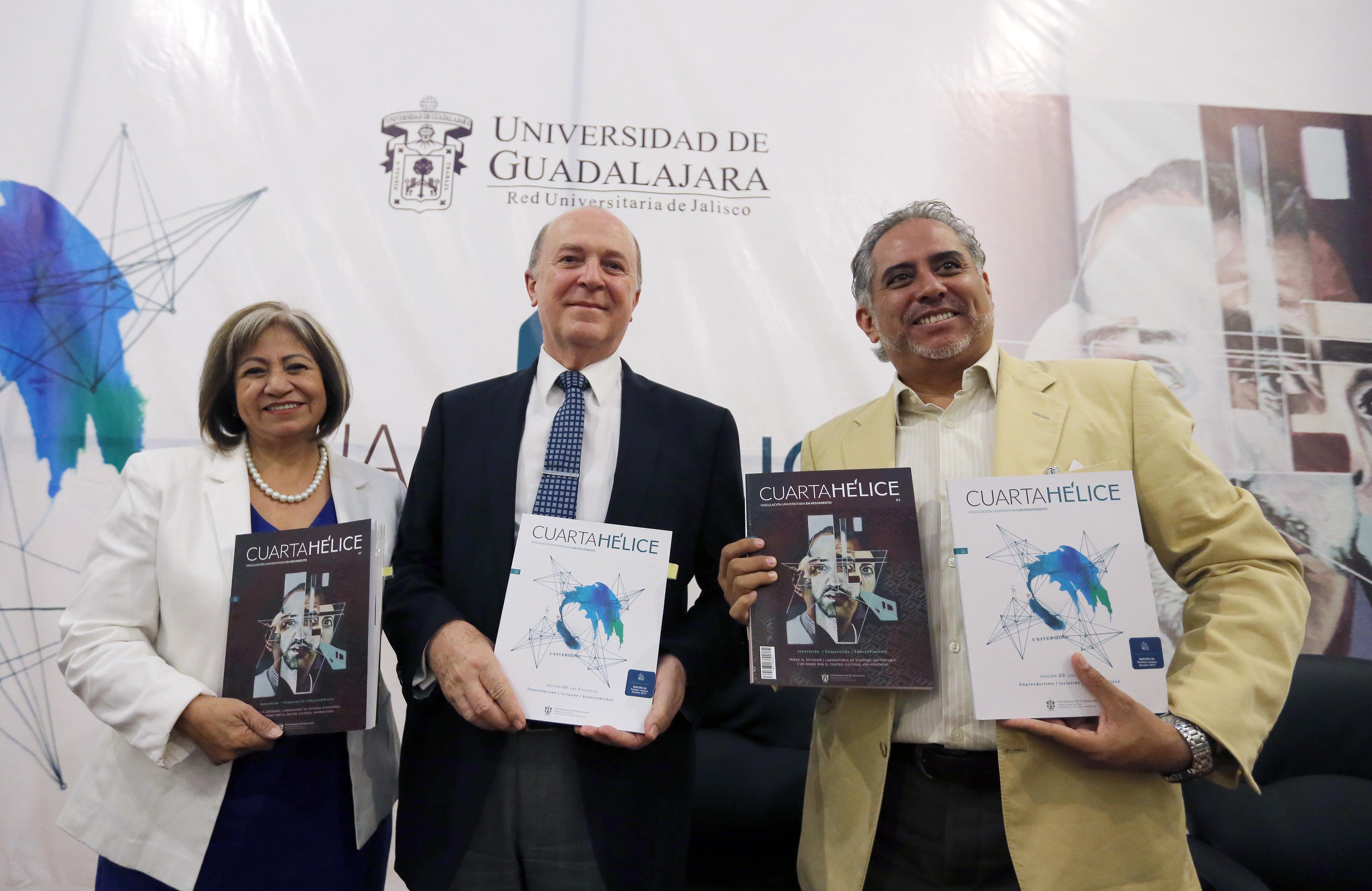 Universidad de Guadalajara (UdeG) presentó la revista Cuarta Hélice, de la Coordinación General de Extensión