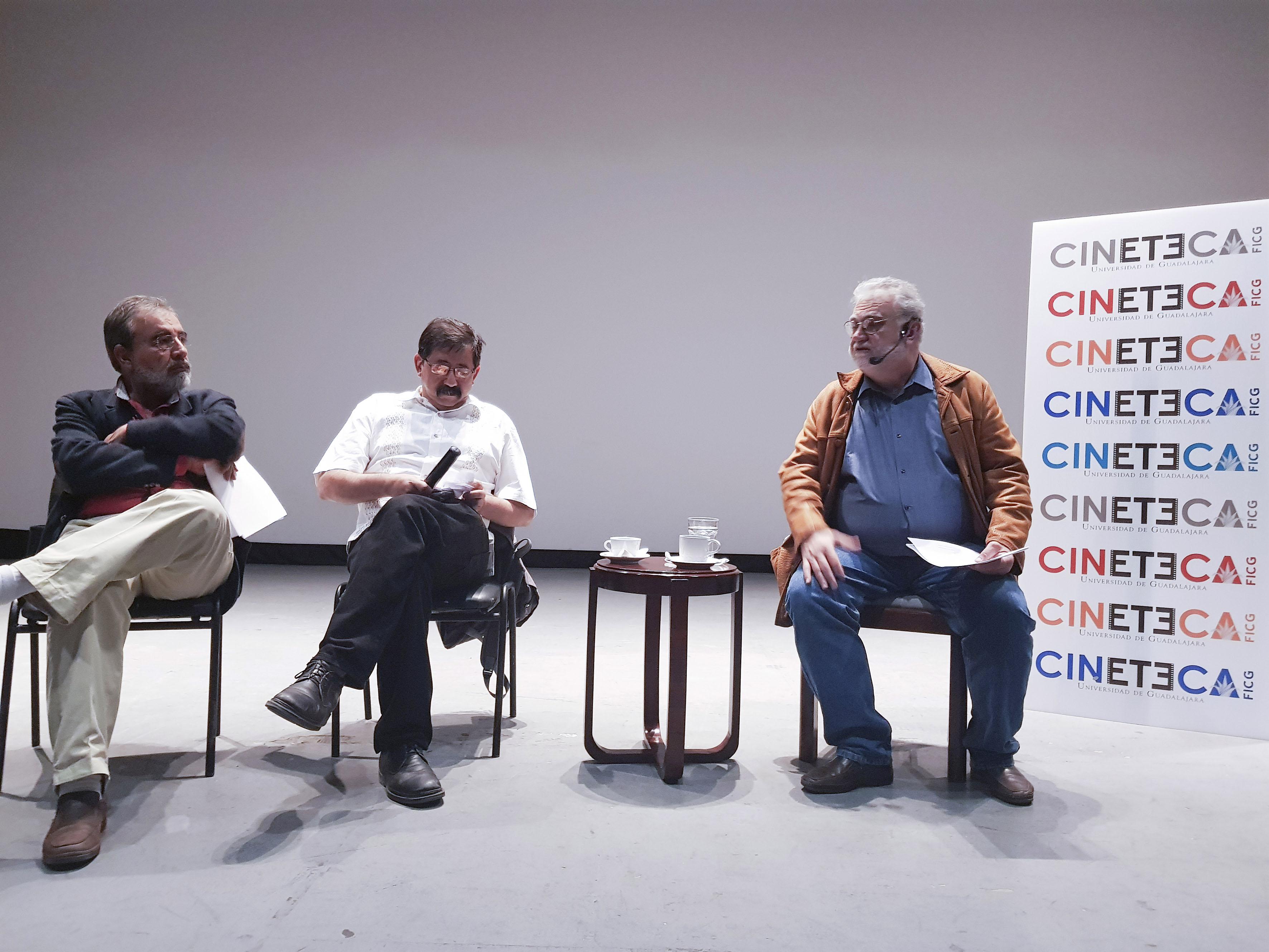 Rueda de prensa de Cineteca FICG Universidad de Guadalajara para anunciar programación