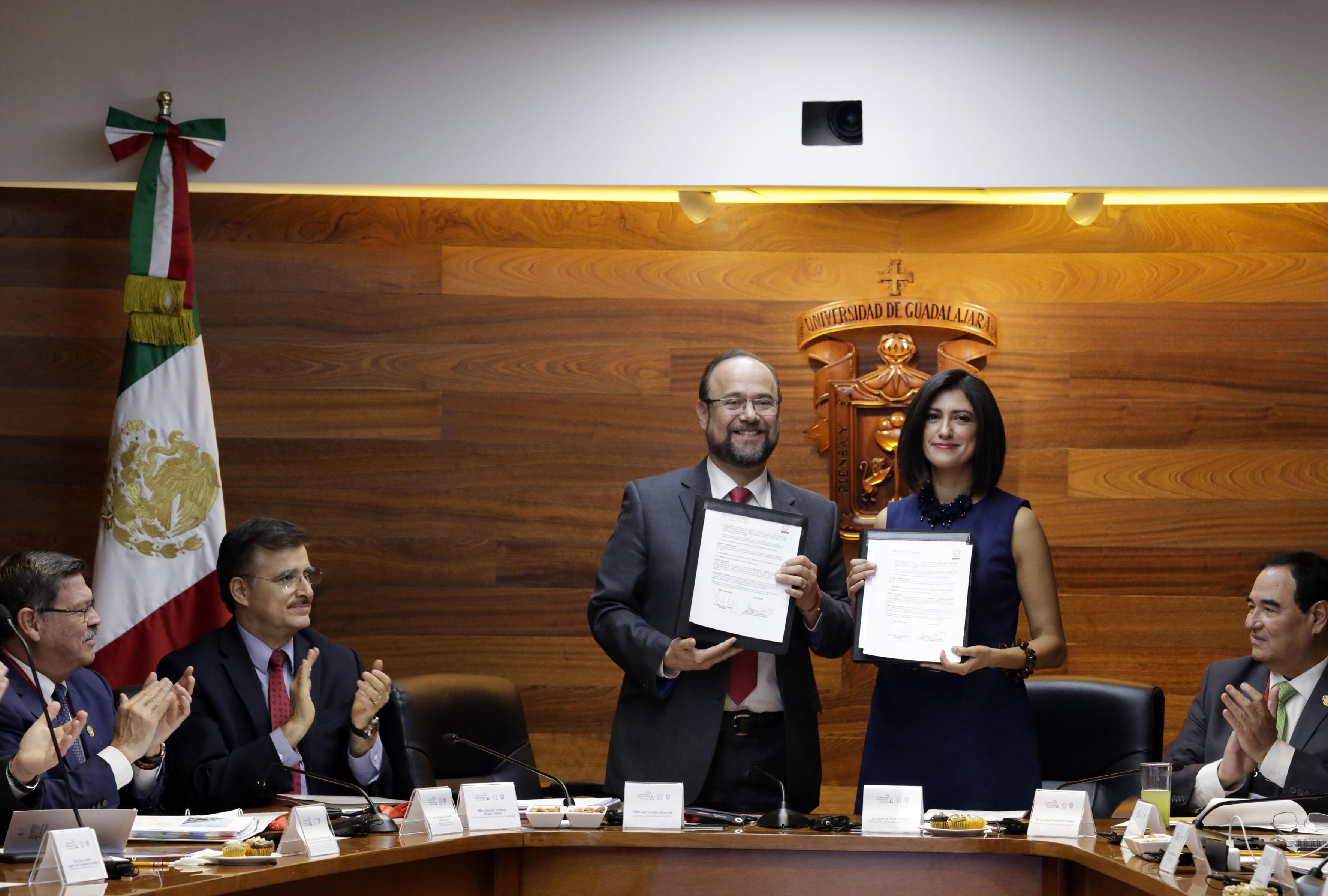 ANUIES firma convenio de colaboración con el Instituto Nacional de las Mujeres