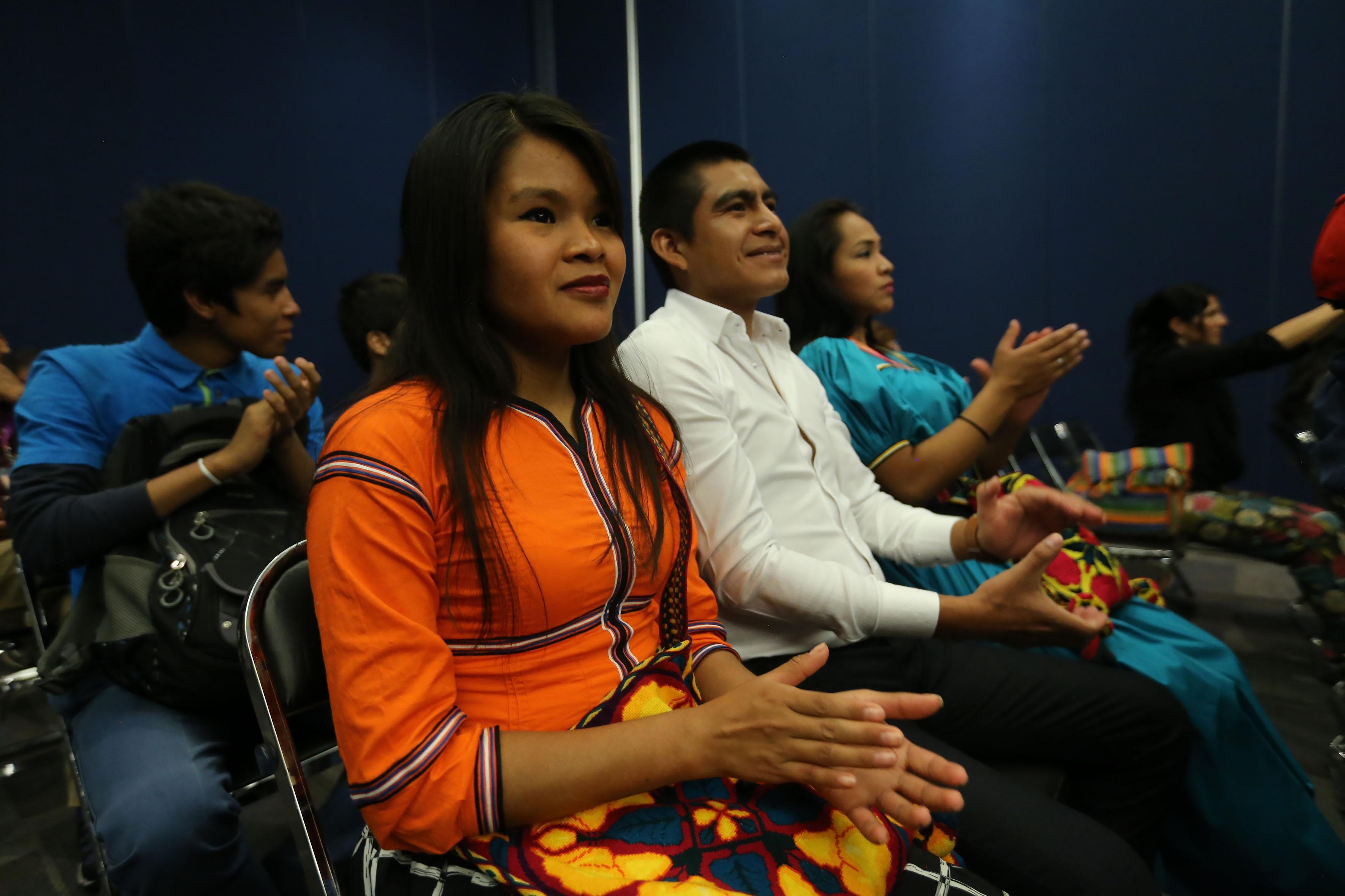 Publico asistente a la ceremonia  de premiación