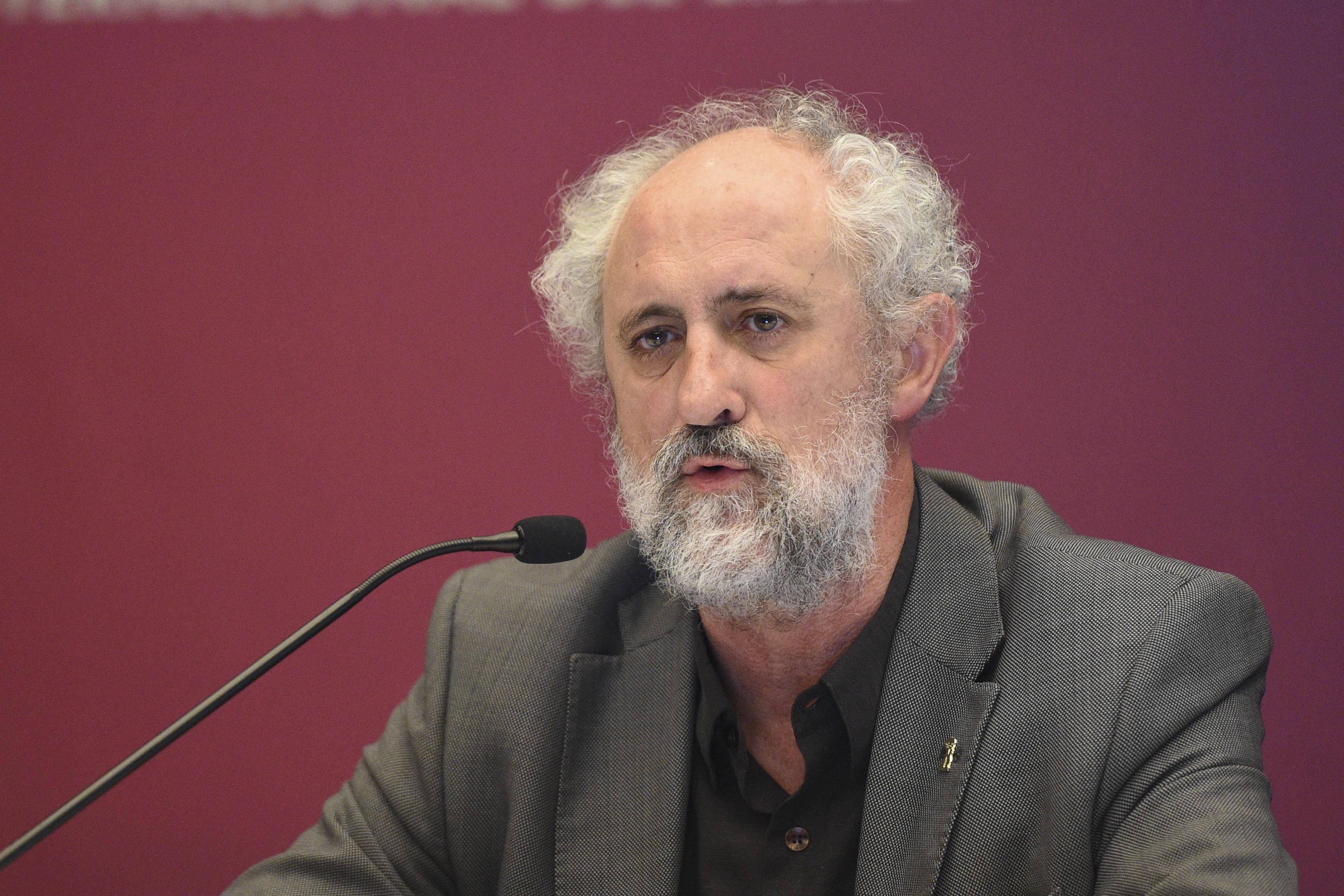 Coordinador General de la Alcaldía de Madrid, Luis Cueto Álvarez, haciendo uso de la palabra