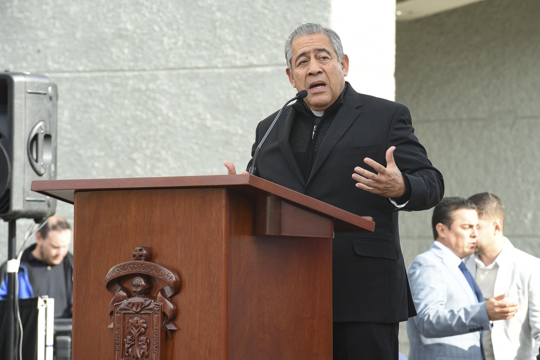 Vicario General de la Arquidiócesis de Guadalajara, presbítero licenciado Jesús García Zamora