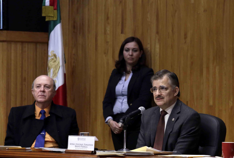 Sesión extraordinaria, el Consejo General Universitario (CGU) de la Universidad de Guadalajara (UdeG)