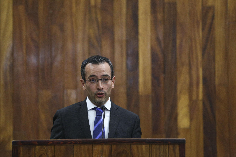 Titular de la Coordinación General de Cooperación e Internacionalización (CGCI), doctor Carlos Iván Moreno Arellano