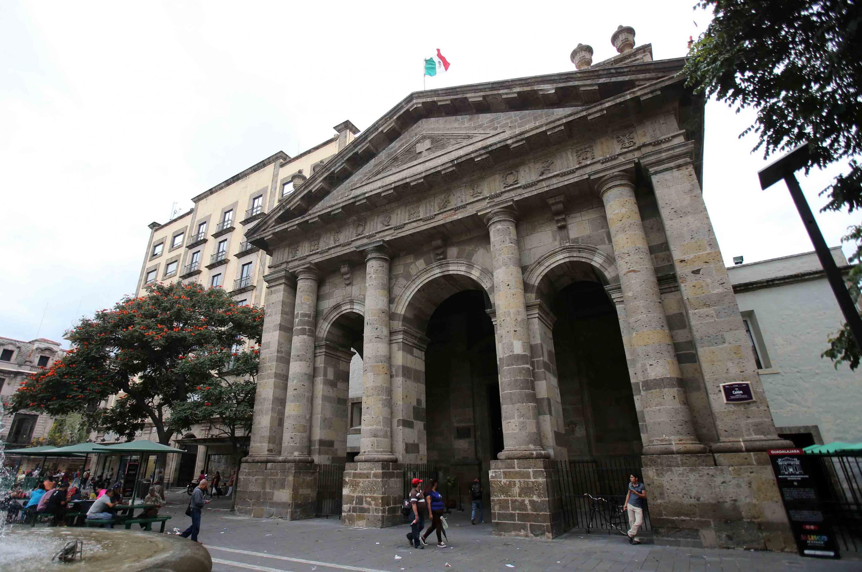 Fachada de la Biblioteca Iberoamericana de la UdeG